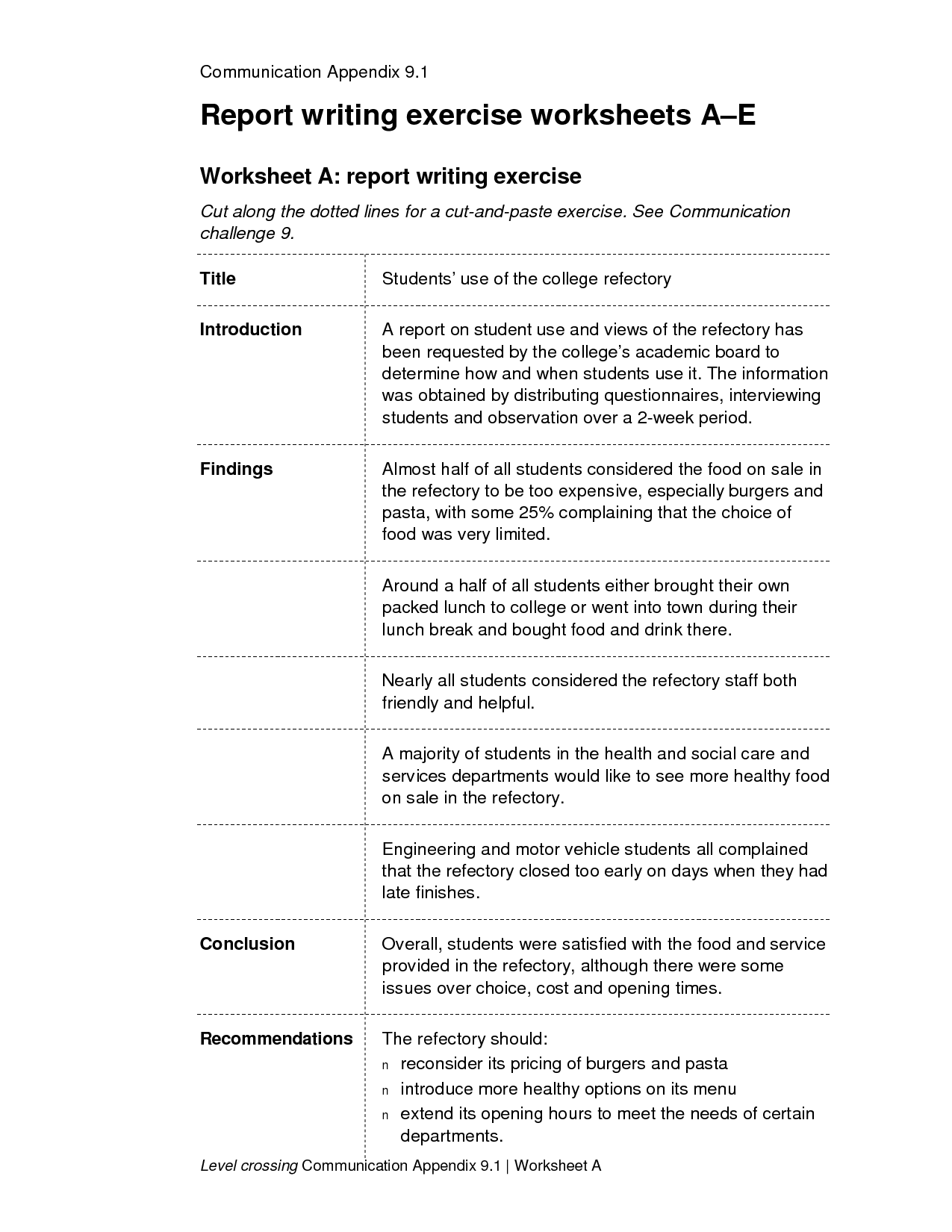 14 Best Images Of College English Worksheets