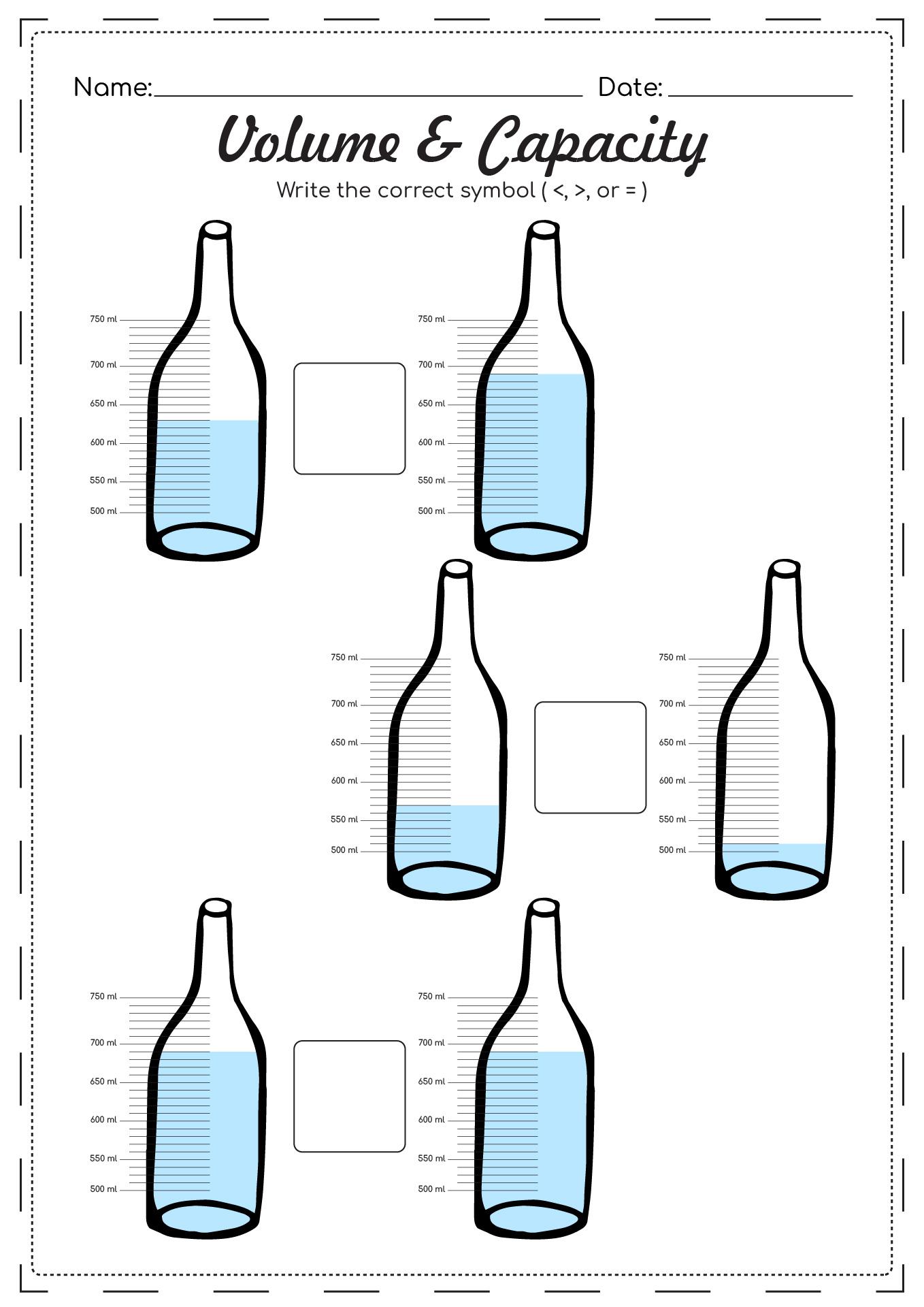 6th Grade Coloring Math Worksheets