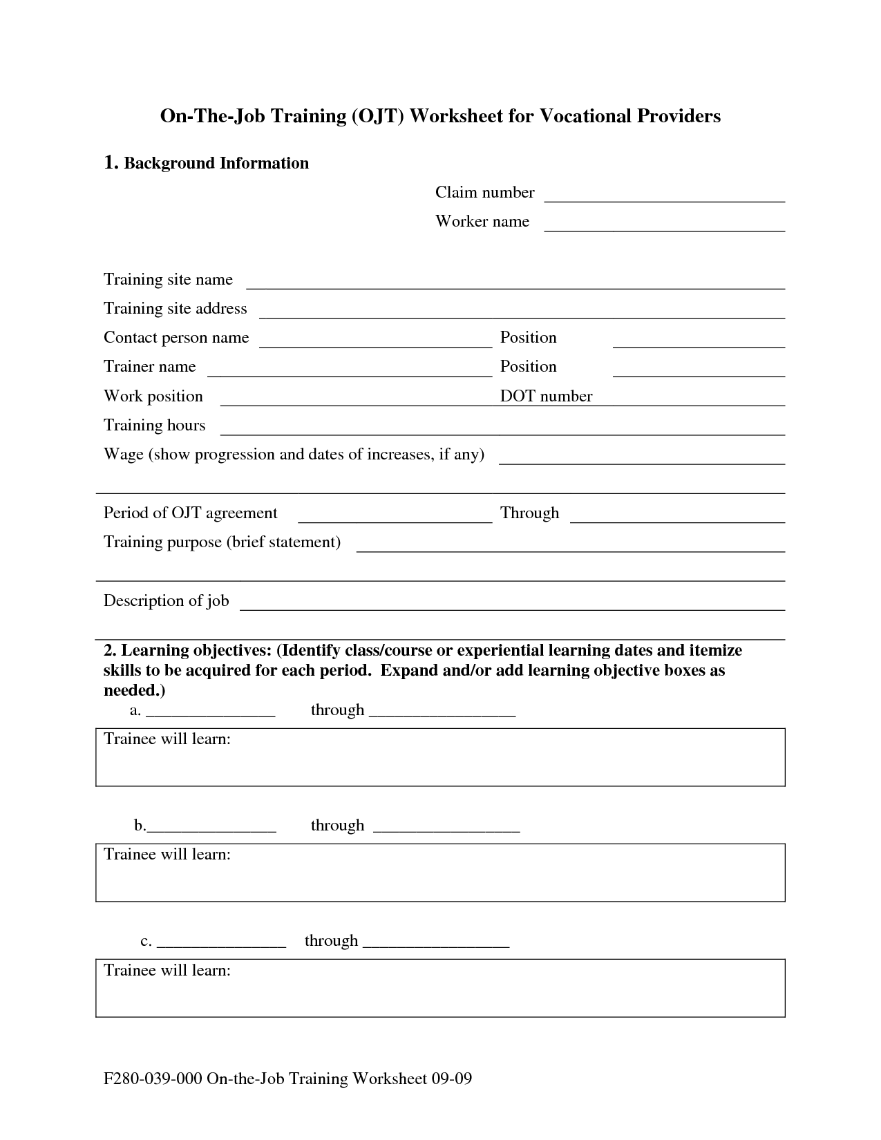 16 Best Images Of Vocational Skills Worksheets