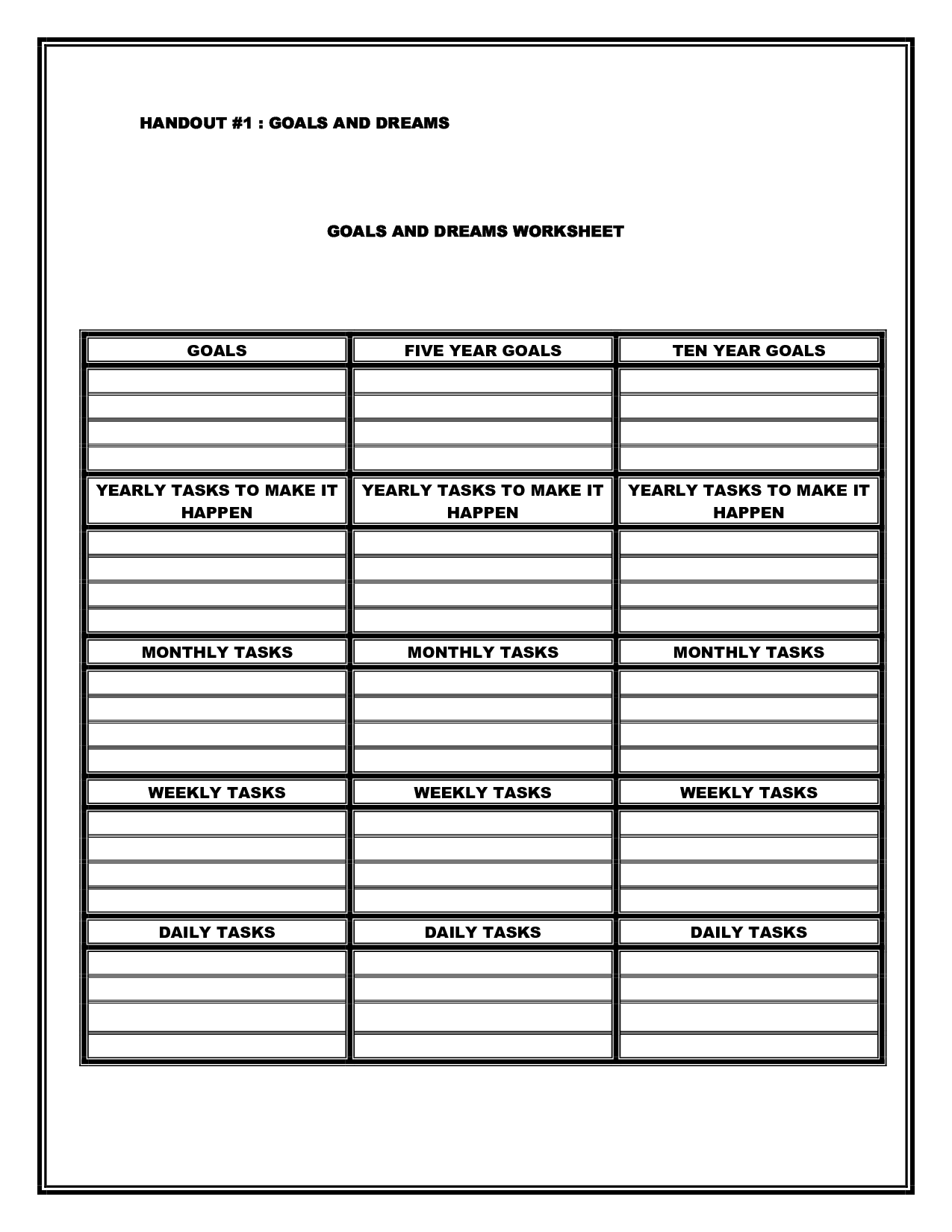 16 Best Images Of Worksheets On Boundaries For Teens