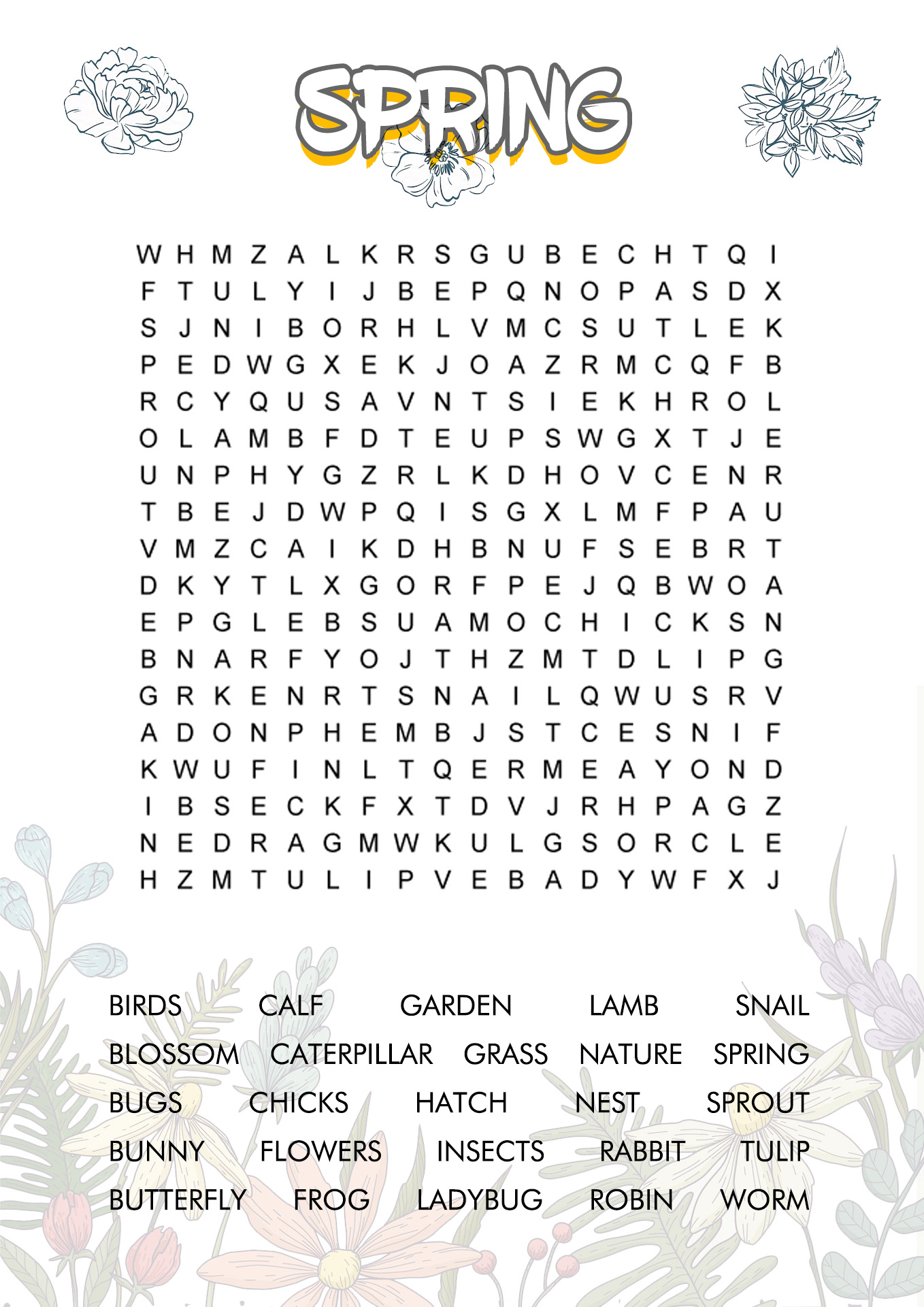 10 Best Images Of Adult Word Search Puzzles Worksheets