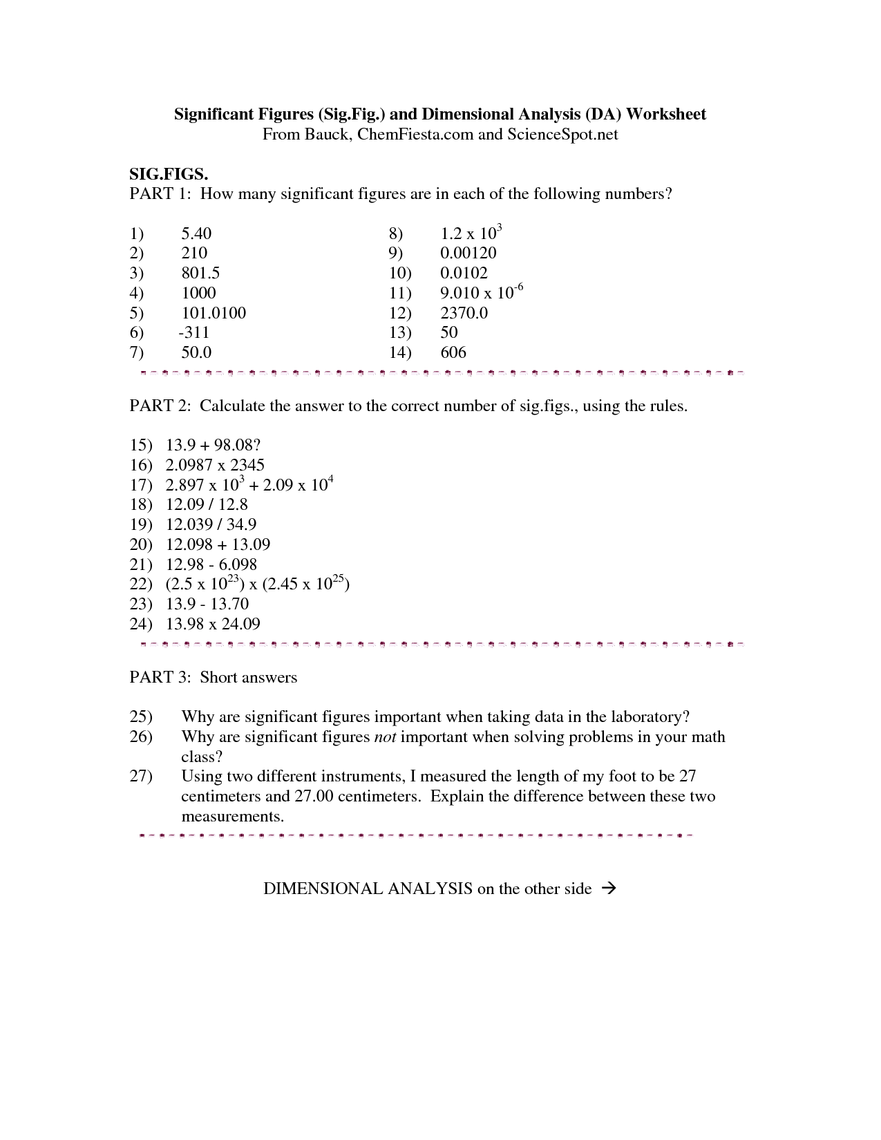 10 Best Images Of Scientific Notation Addition Worksheets