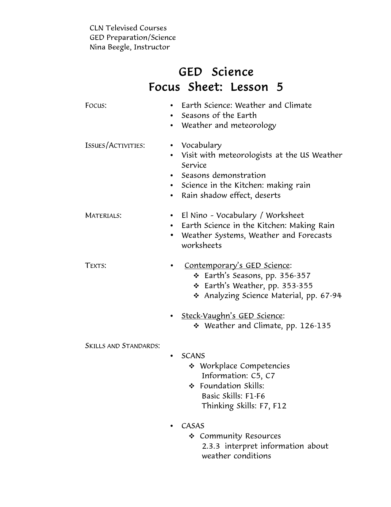 Ged Math Worksheet Printable