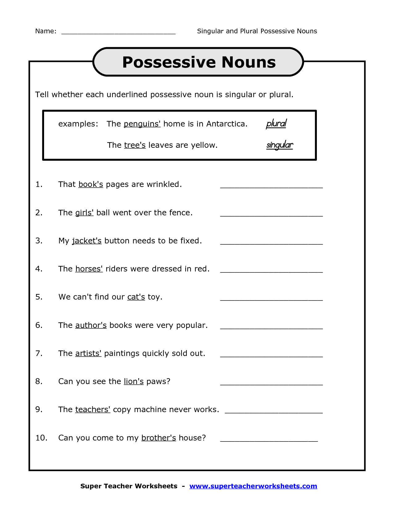 12 Best Images Of Pronouns Grammar Worksheets For 2nd