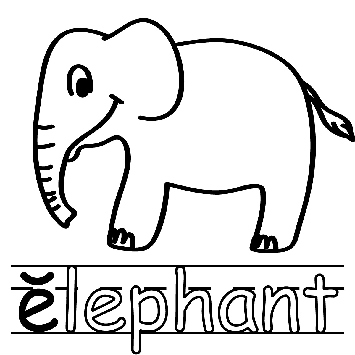 15 Best Images Of Short Letter E Worksheets