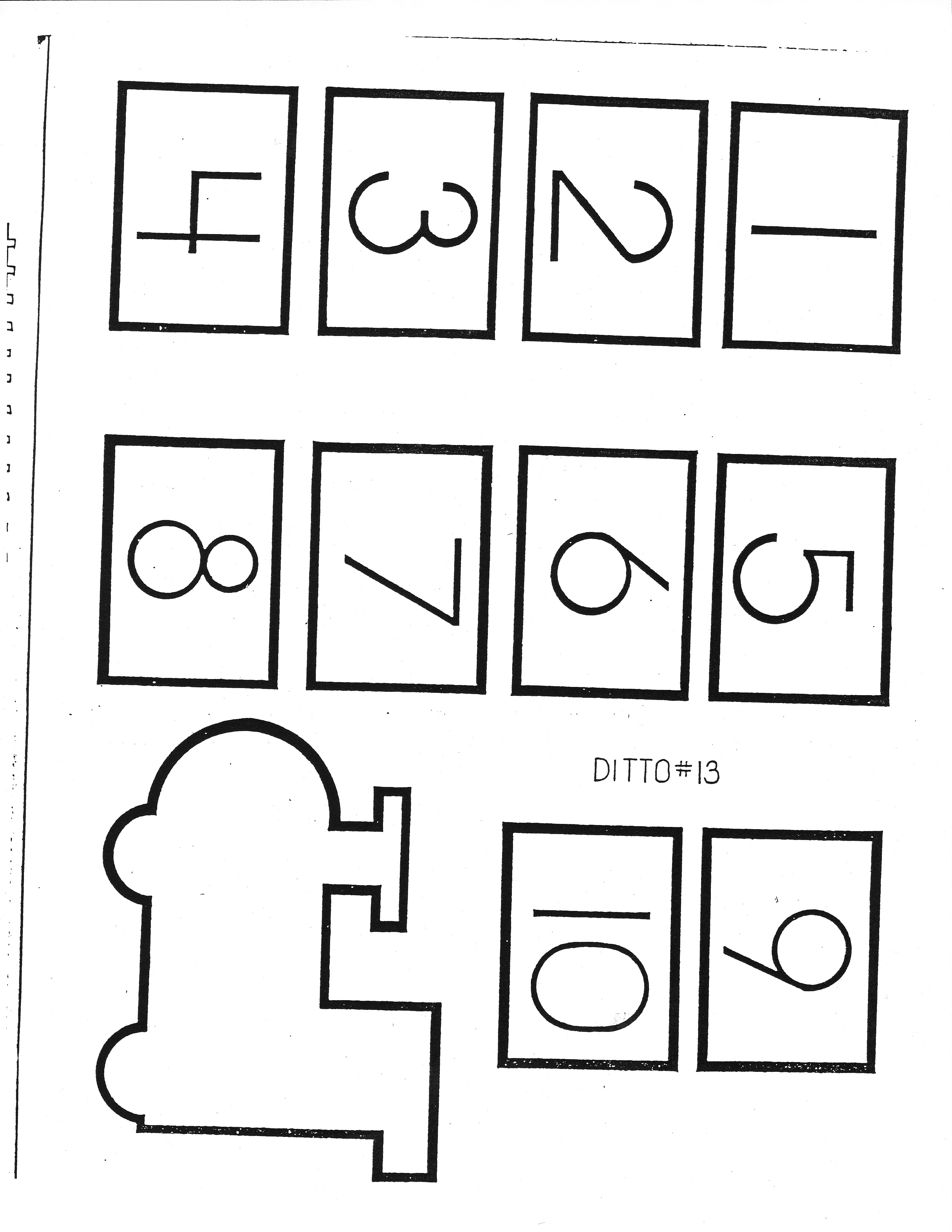 Printable Preschool Tracing Worksheet Cut