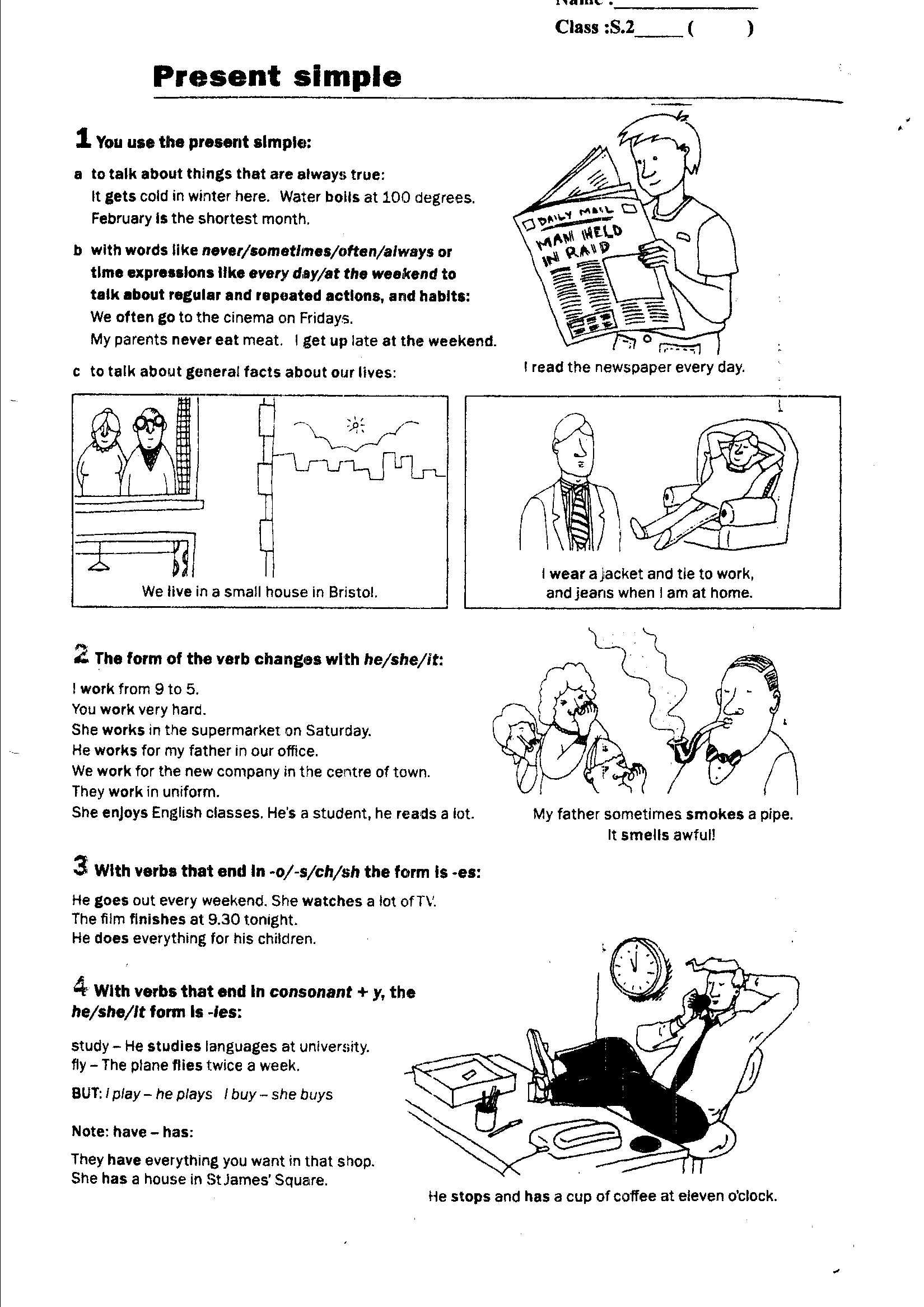 7 Best Images Of Spanish Present Progressive Worksheet
