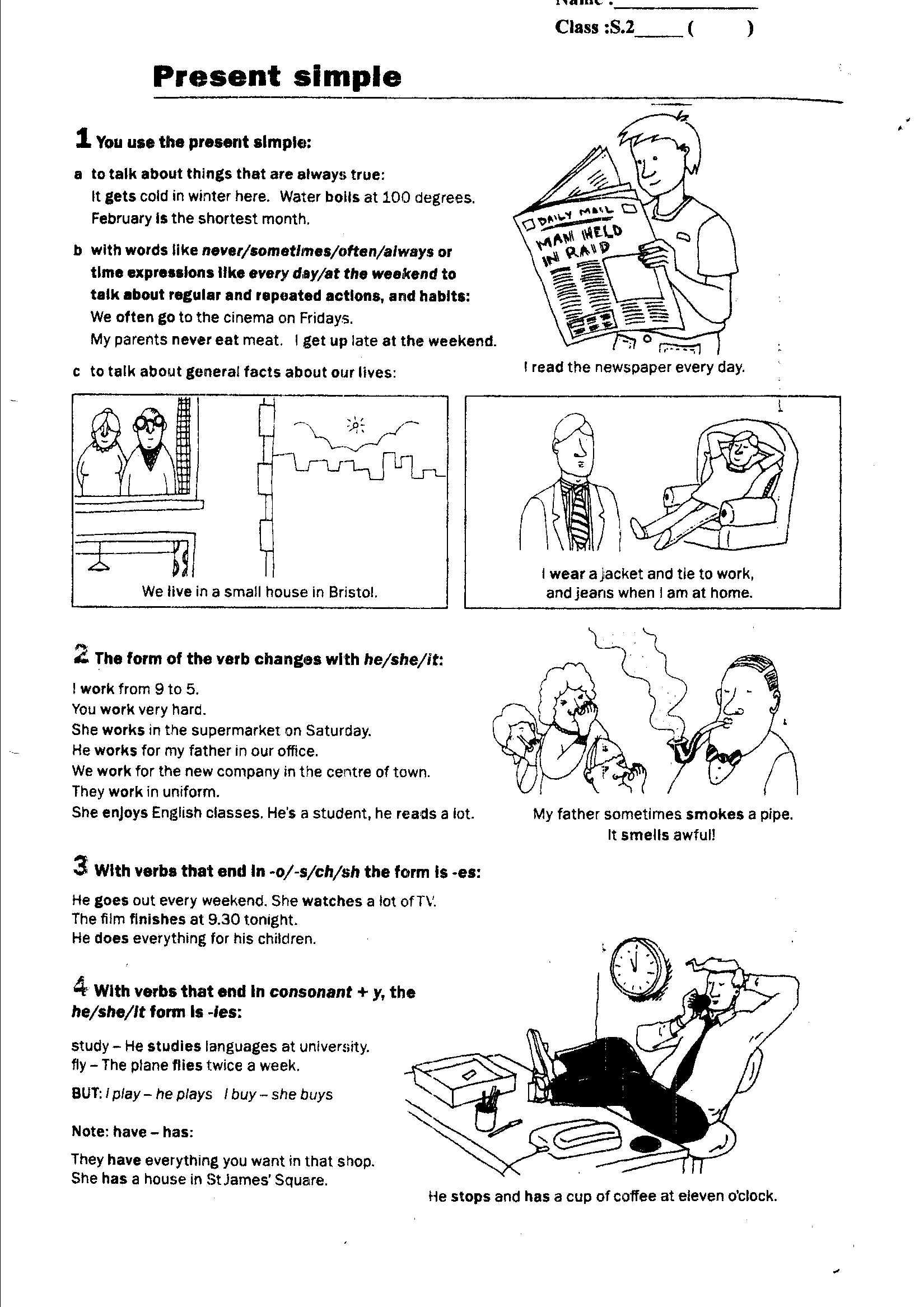 7 Best Images Of Spanish Present Progressive Worksheet