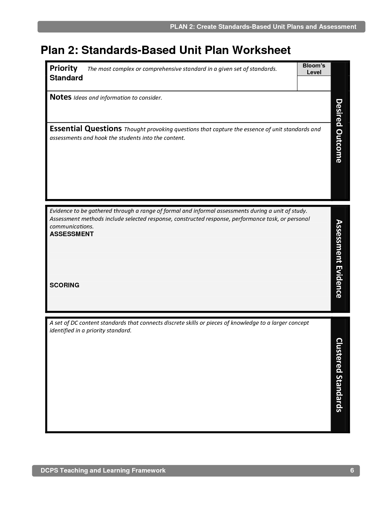 12 Best Images Of Priority Planning Worksheet