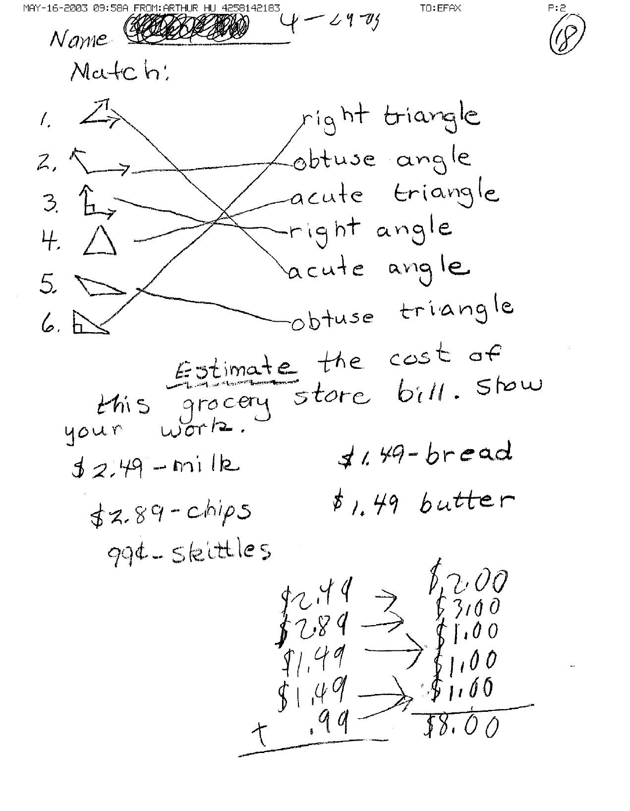 Time Math Worksheet 10th Grade