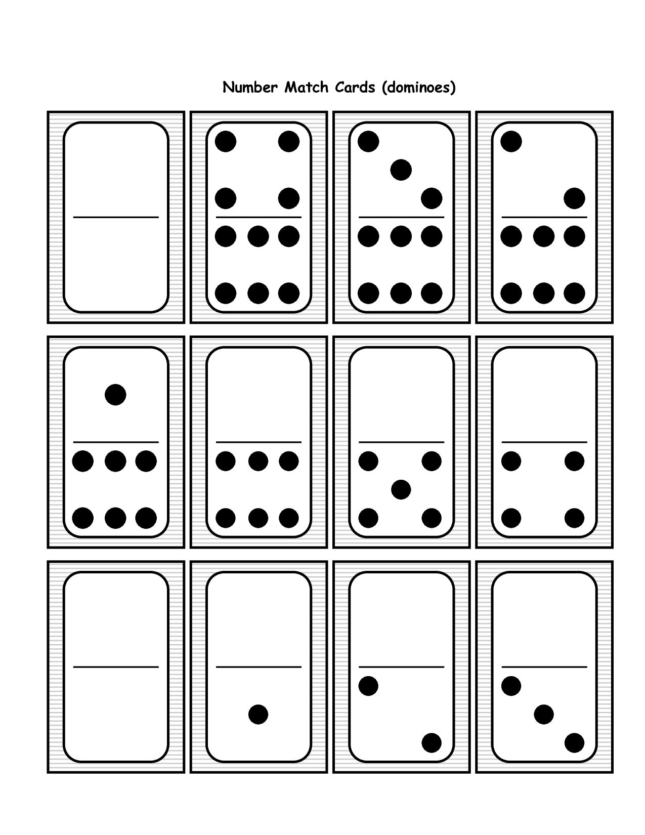 Domino Addition And Subtraction Kindergarten Worksheet