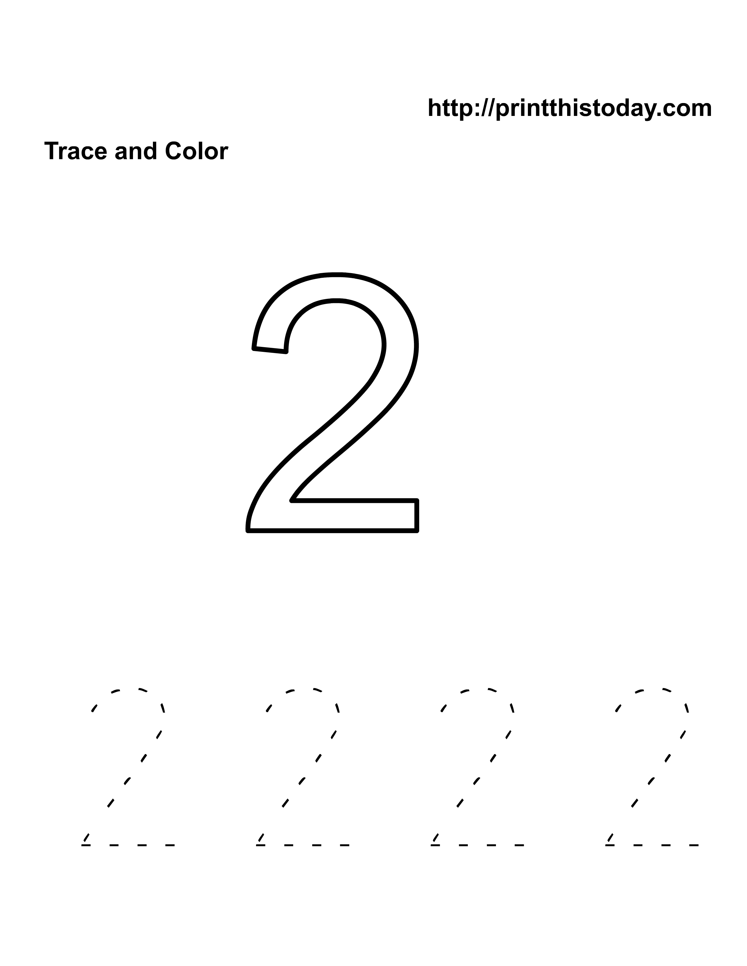 Number Worksheet Category Page 2