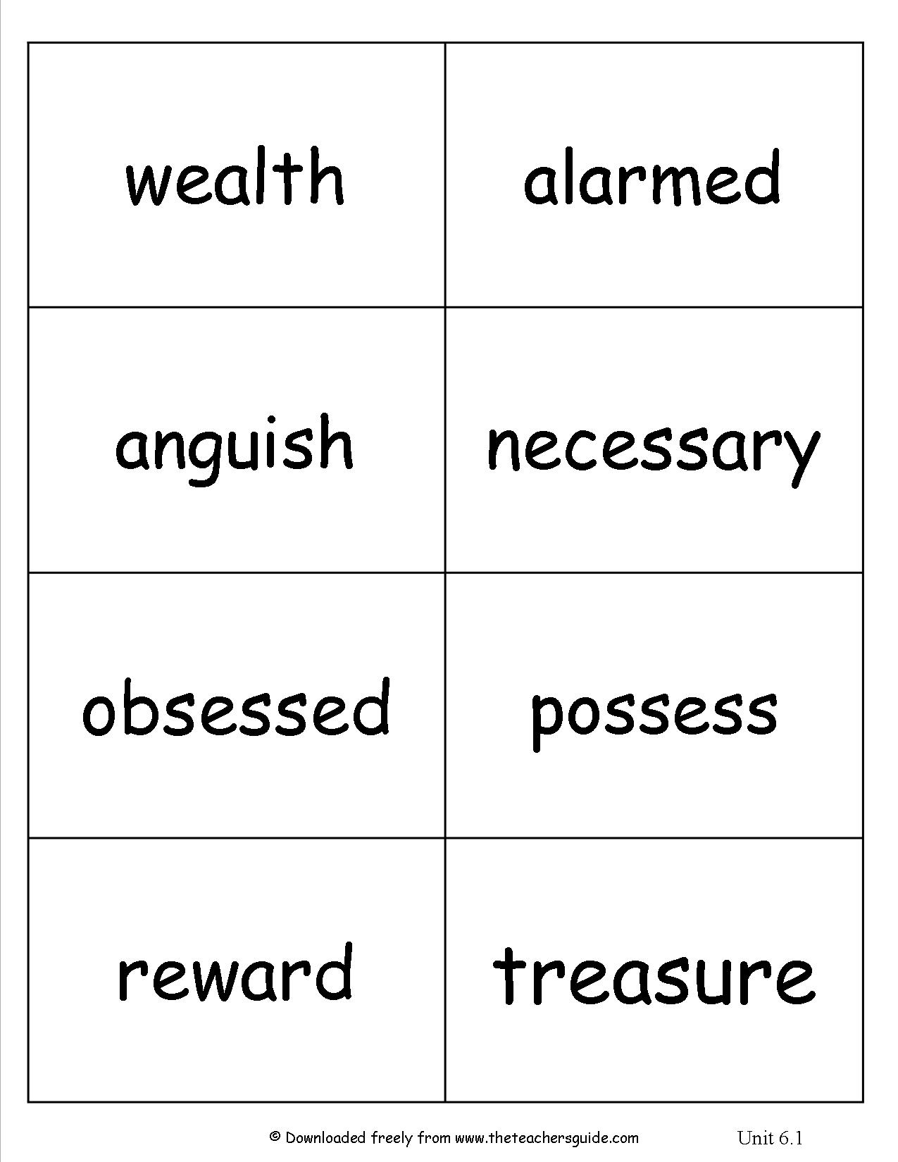 17 Best Images Of Teaching Guide Words Worksheets