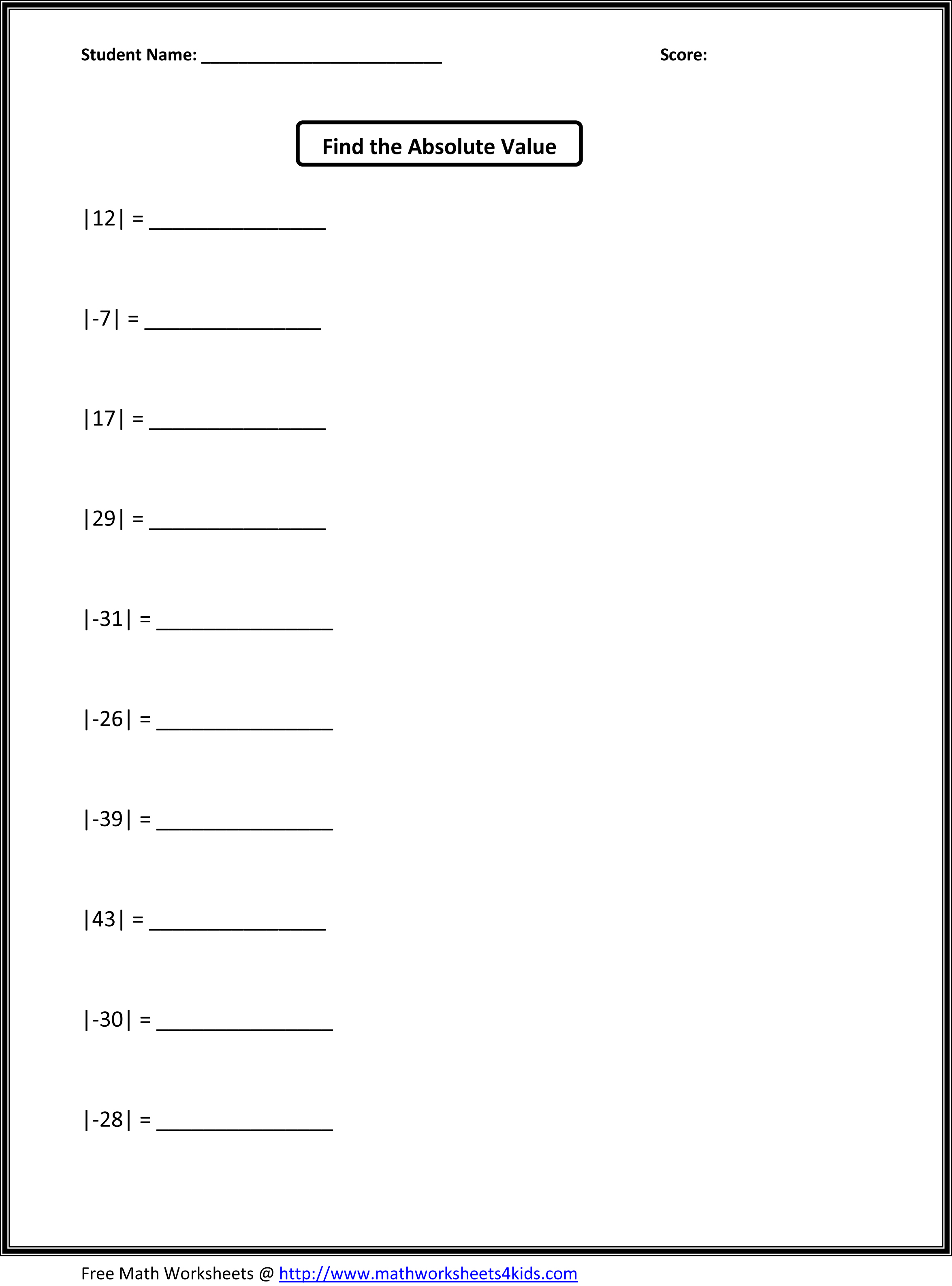 12 Best Images Of Order Of Operations Puzzle Worksheet