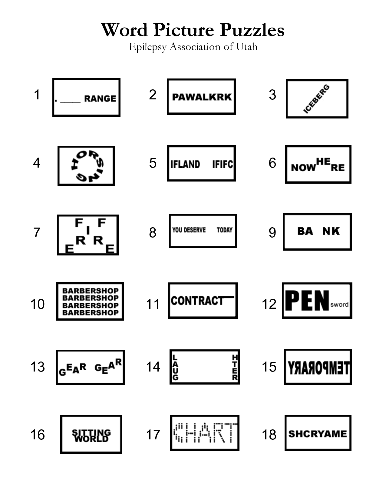14 Best Images Of M Cript Worksheets For Adults