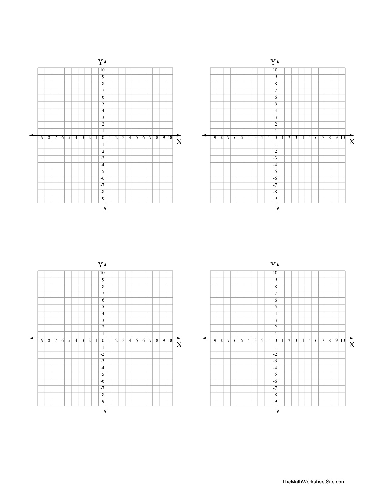 11 Best Images Of Algebra Coordinate Plane Worksheets