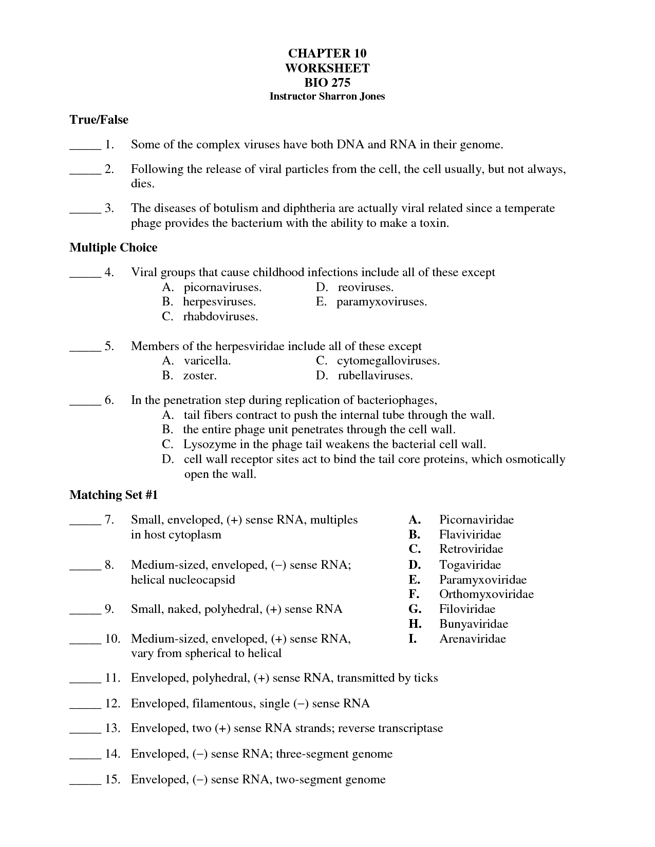 12 Best Images Of Human Anatomy Review Worksheet