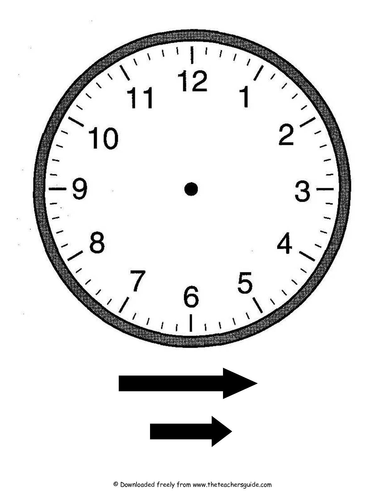 11 Best Images Of Make Your Own Clock Worksheet