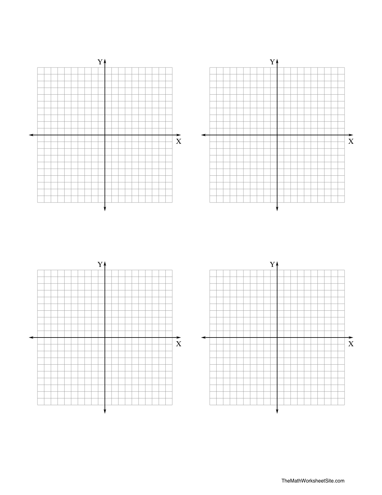 13 Best Images Of Math Coordinate Graph Worksheets