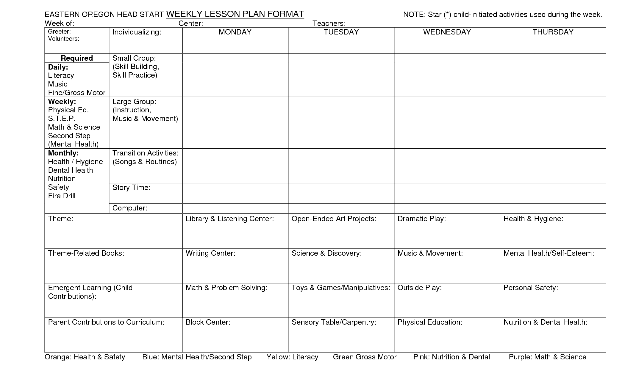 15 Best Images Of Printable Head Start Worksheets