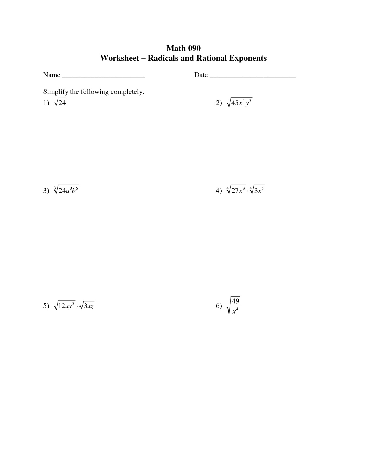 Rates Of Change Algebra 1 Worksheet