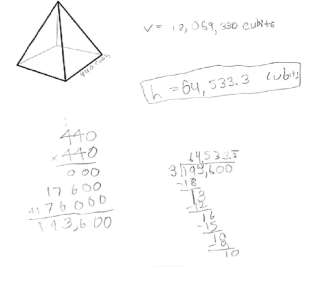 8 Best Images Of Volume Of A Pyramid Worksheet
