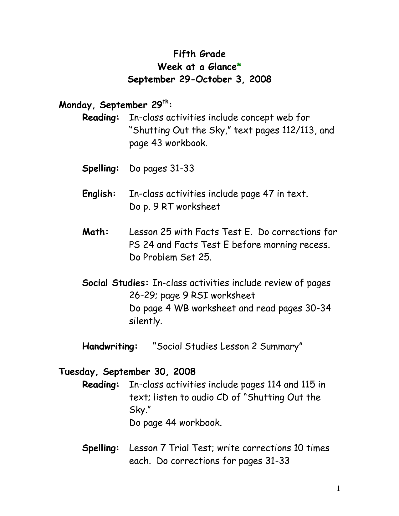 16 Best Images Of 5th Grade Grammar Worksheets