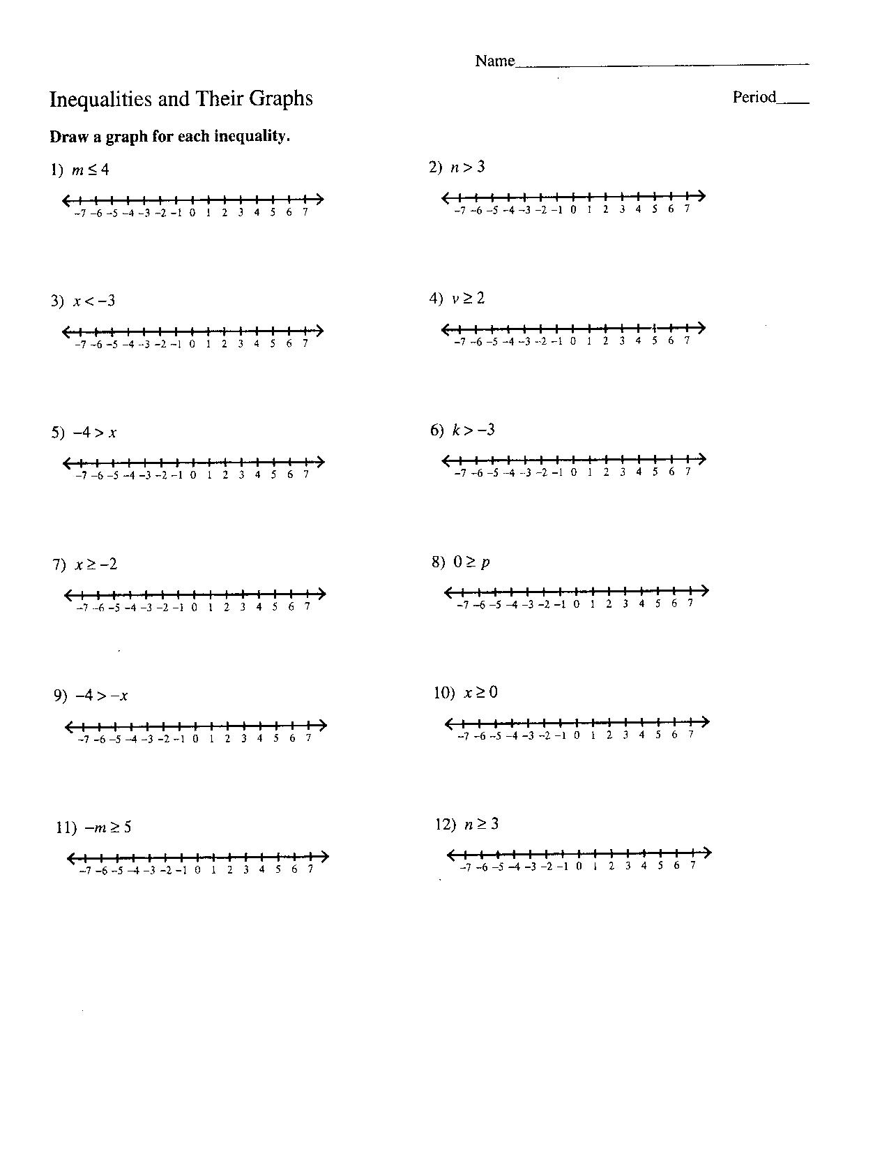 10 Best Images Of Number Of Solutions Worksheet