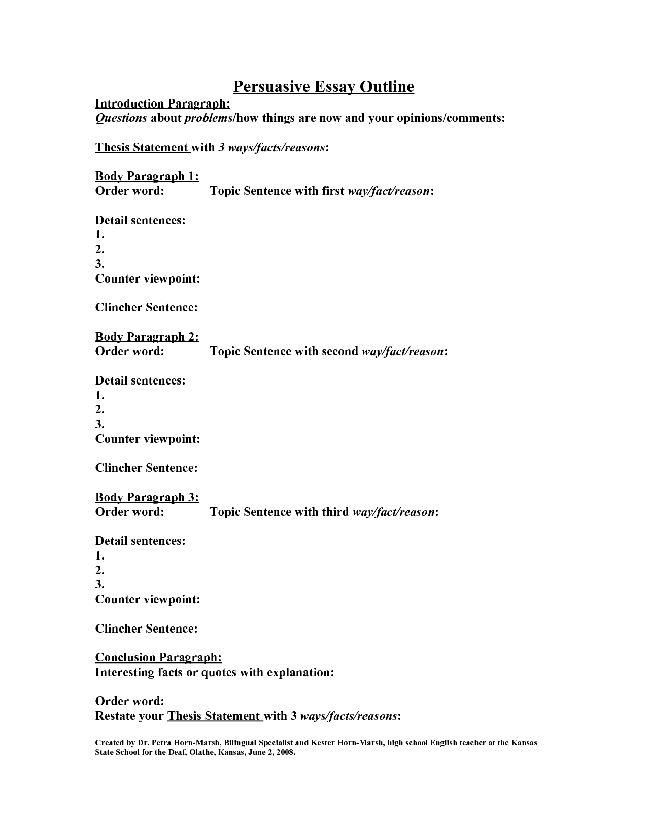 12 Best Images Of Paragraph Structure Worksheet