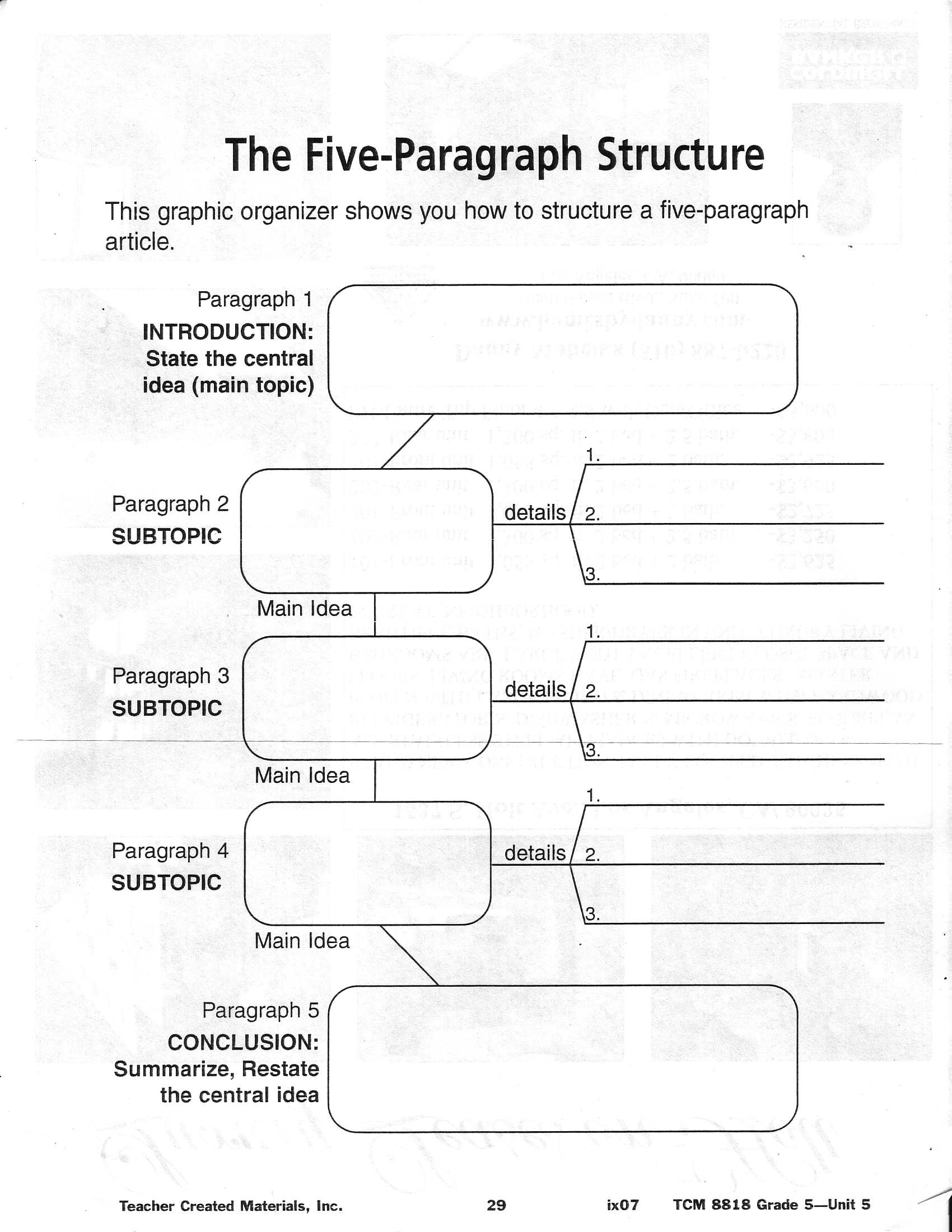 14 Best Images Of Worksheets 3rd Grade Writing Strategies