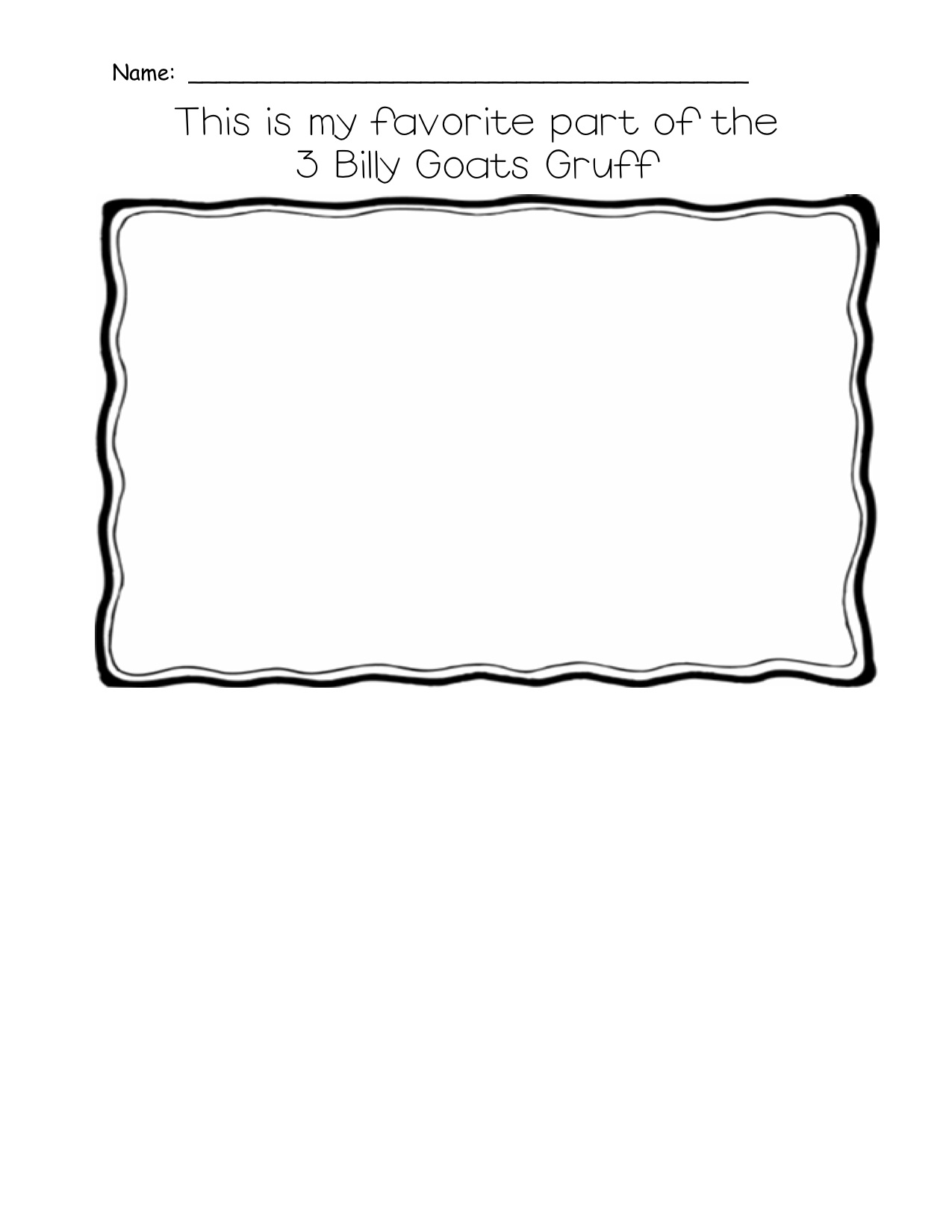 12 Best Images Of The Story Of My Favorite Part Worksheet
