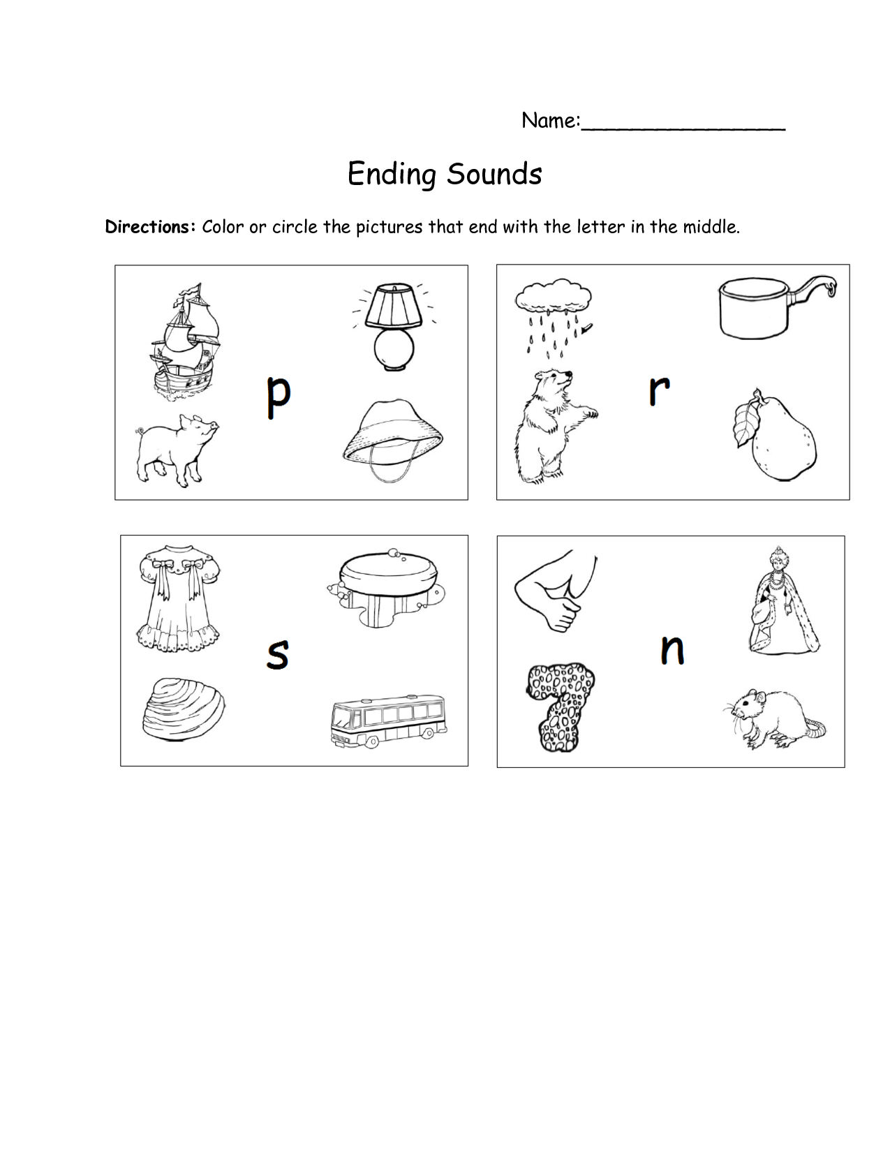 12 Best Images Of Worksheets Kindergarten Letter
