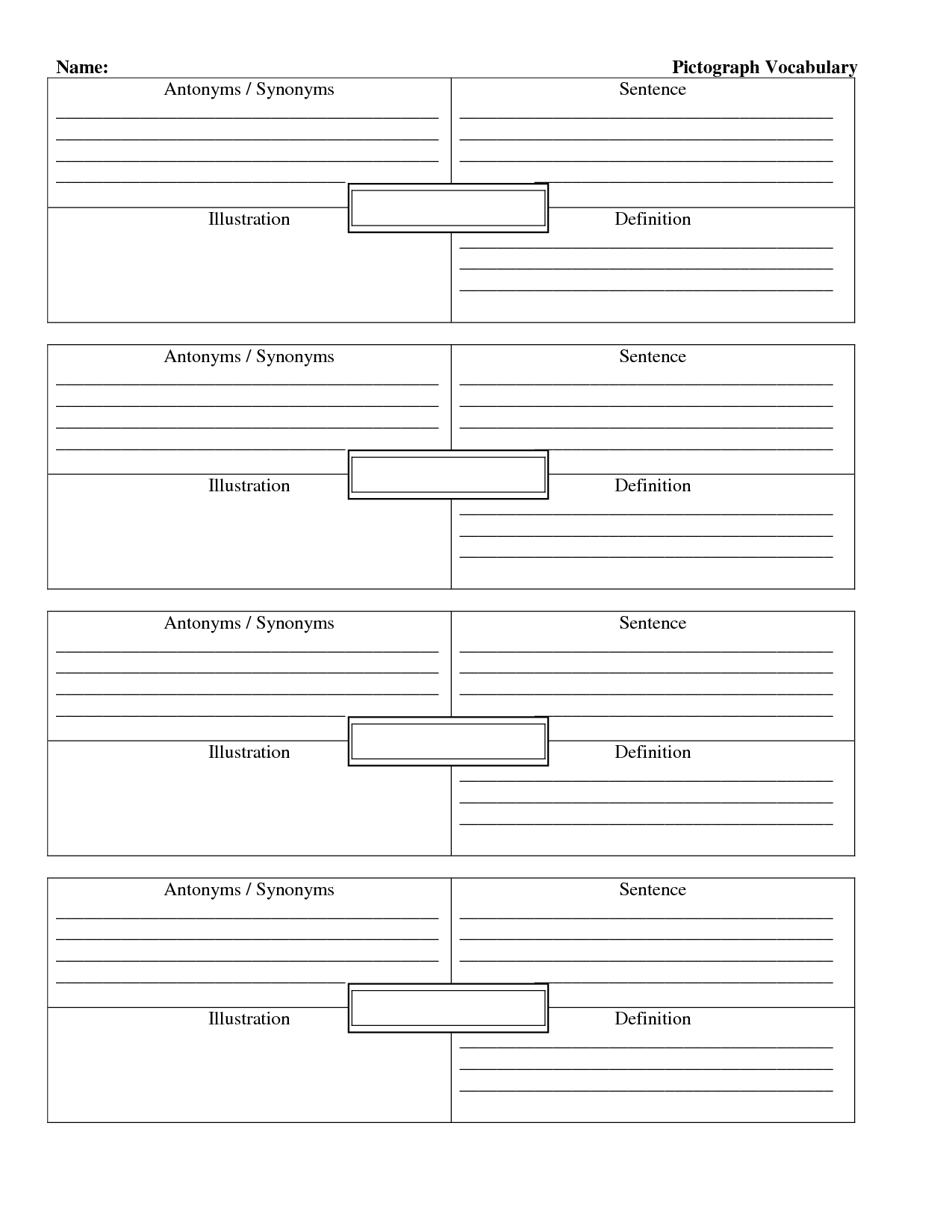 17 Best Images Of Tally Table Worksheets