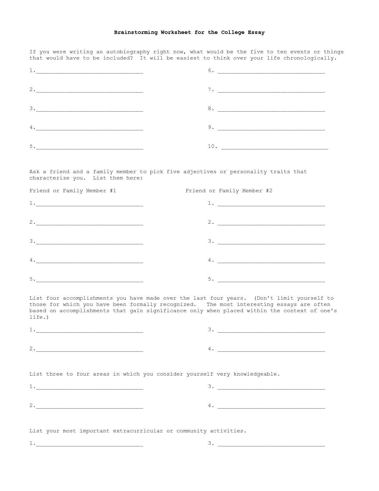 13 Best Images Of Cause And Effect Essay Worksheet