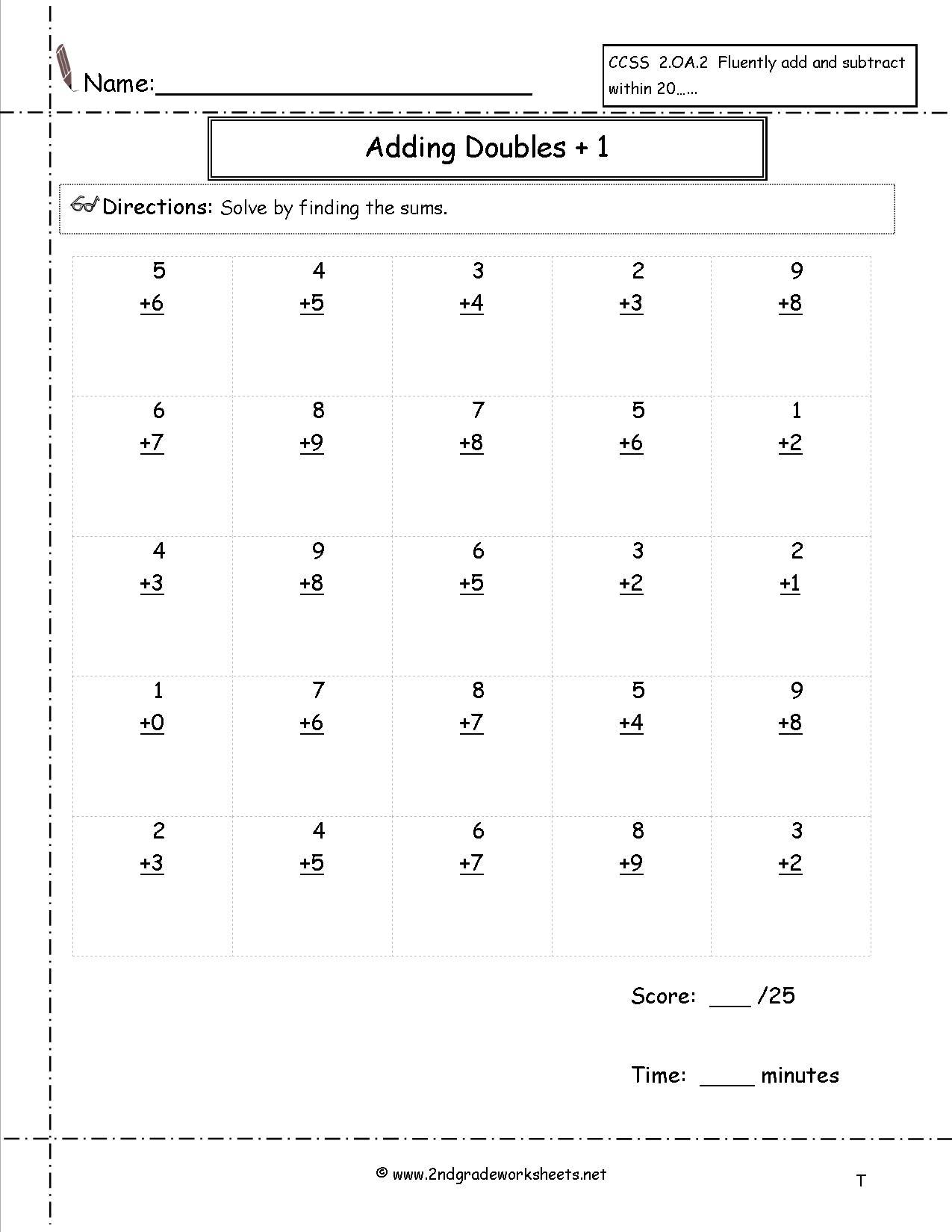 16 Best Images Of Addition Worksheets 100 Problems
