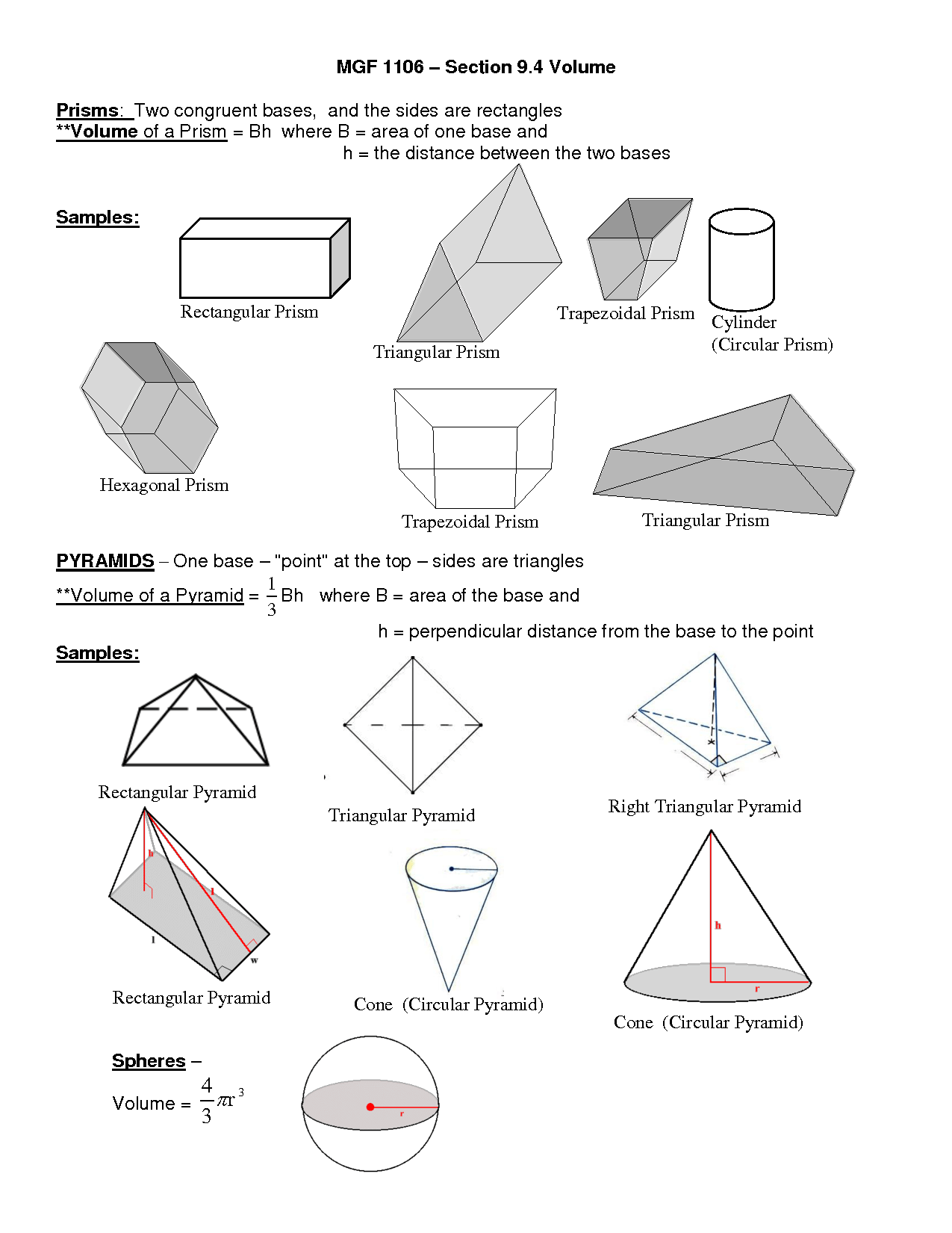 13 Best Images Of Composite Volume Worksheets