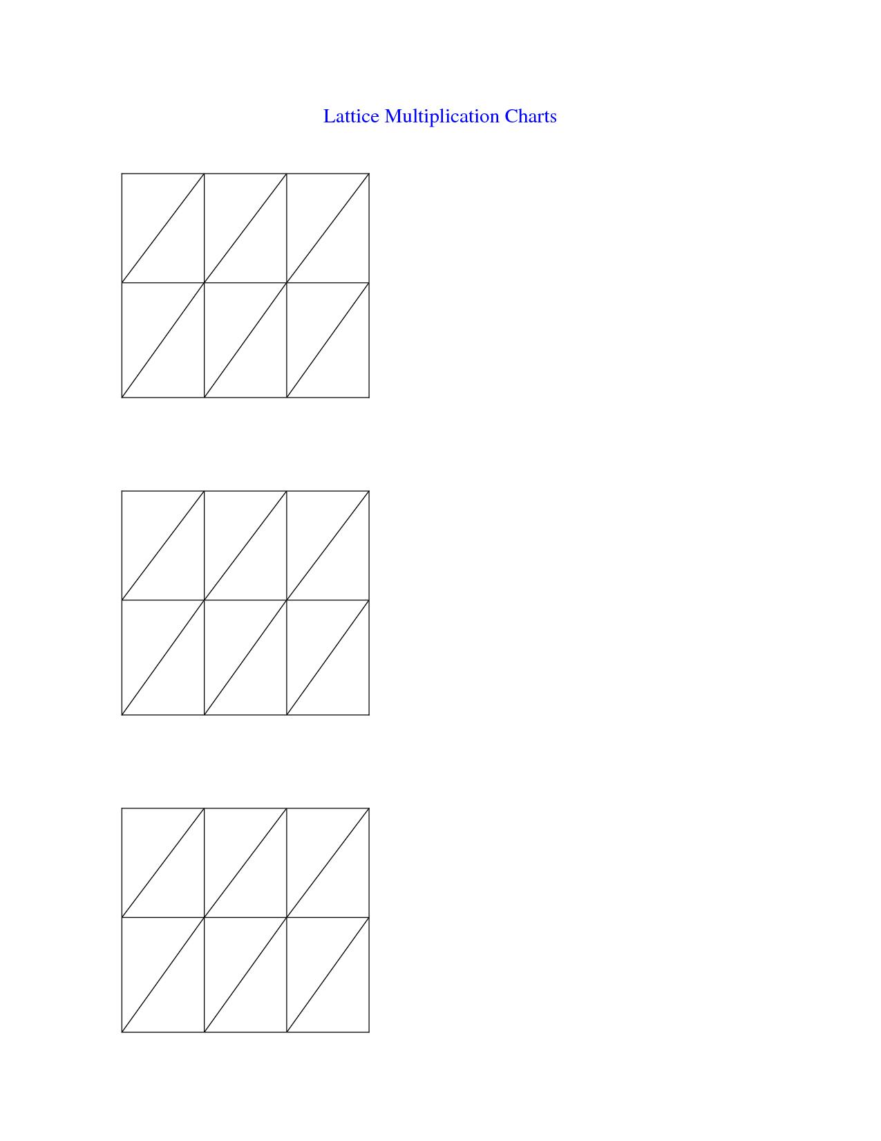 worksheet Lattice Multiplication Worksheet multiplying decimals lattice worksheet multiplication how to do lattice