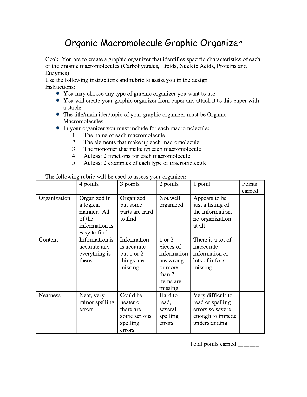 Nucleic Acids Worksheet Answer Key
