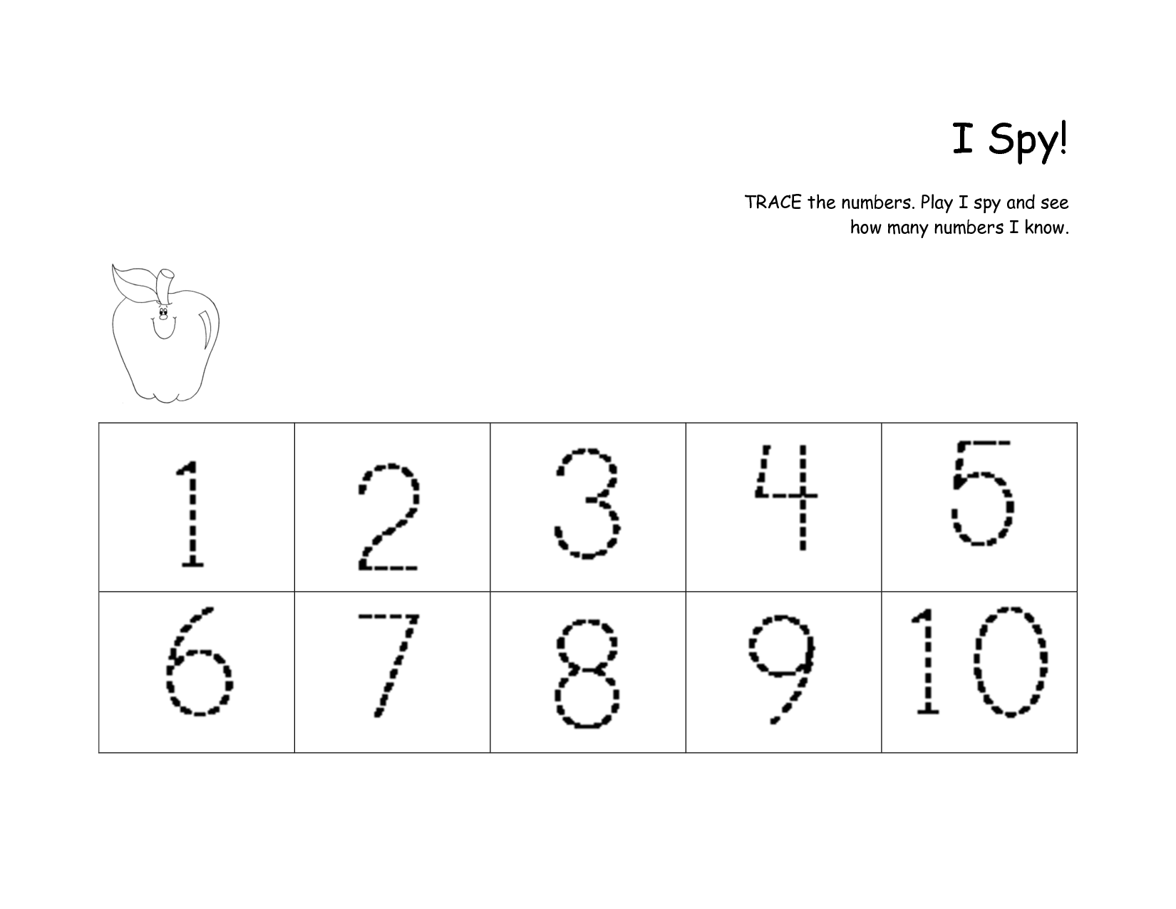 12 Best Images Of Practice Numbers Writing Worksheet 6