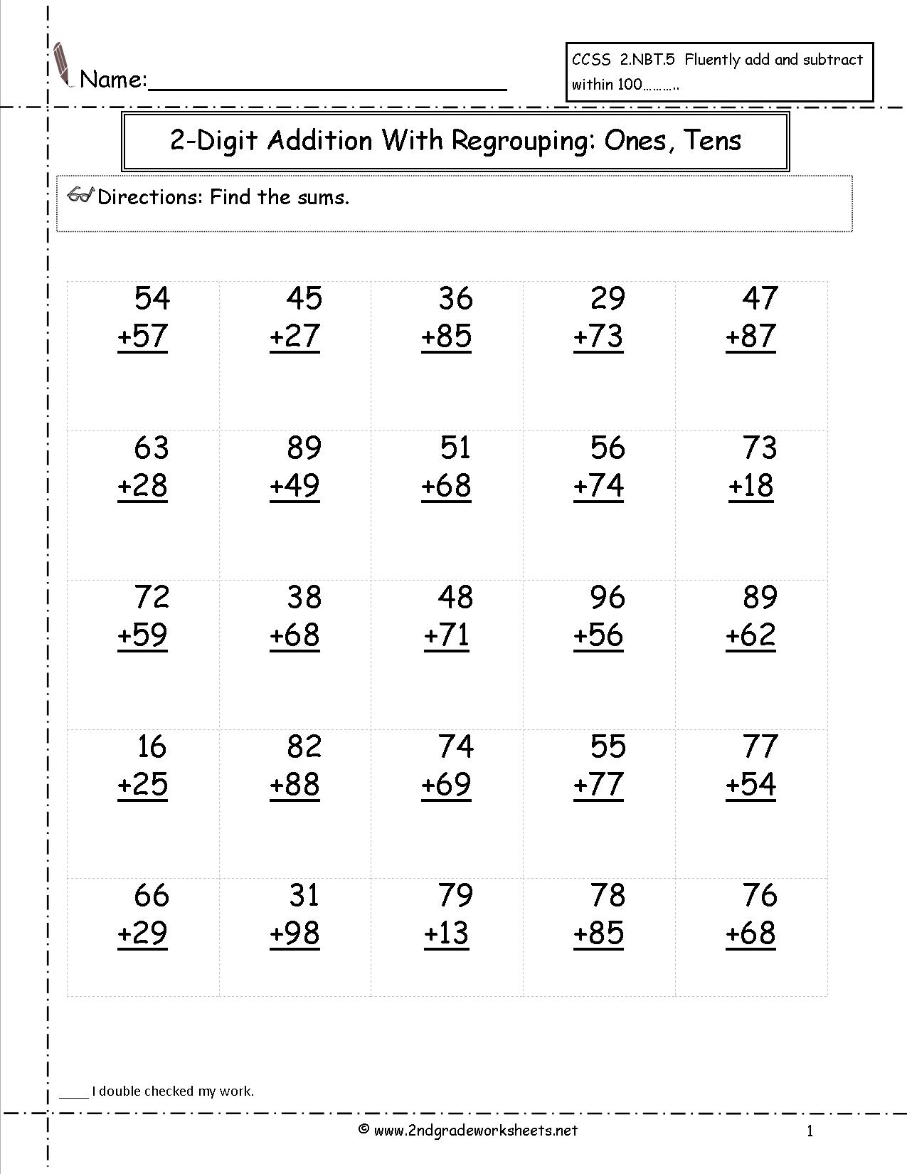 18 Best Images Of Tens And Ones Math Worksheets For Grade