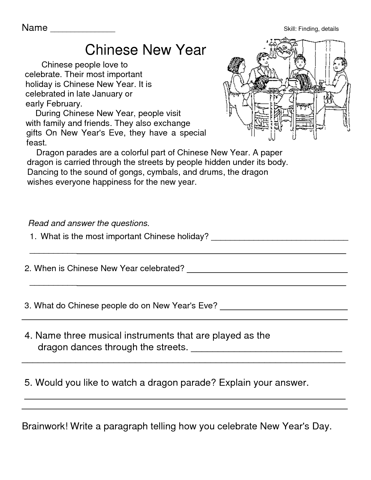 Separation Income Worksheet