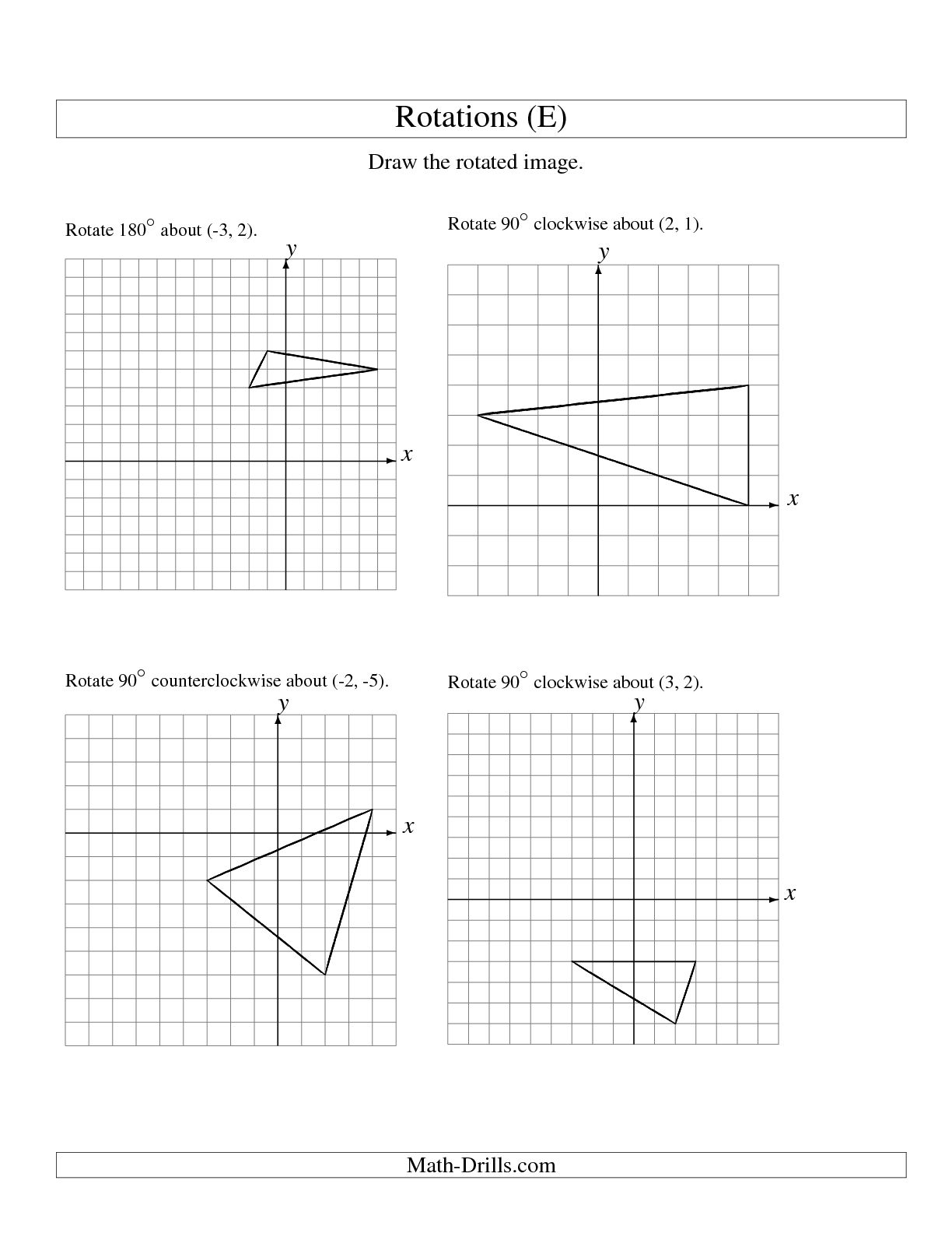 12 Best Images Of Free Geometry Worksheets