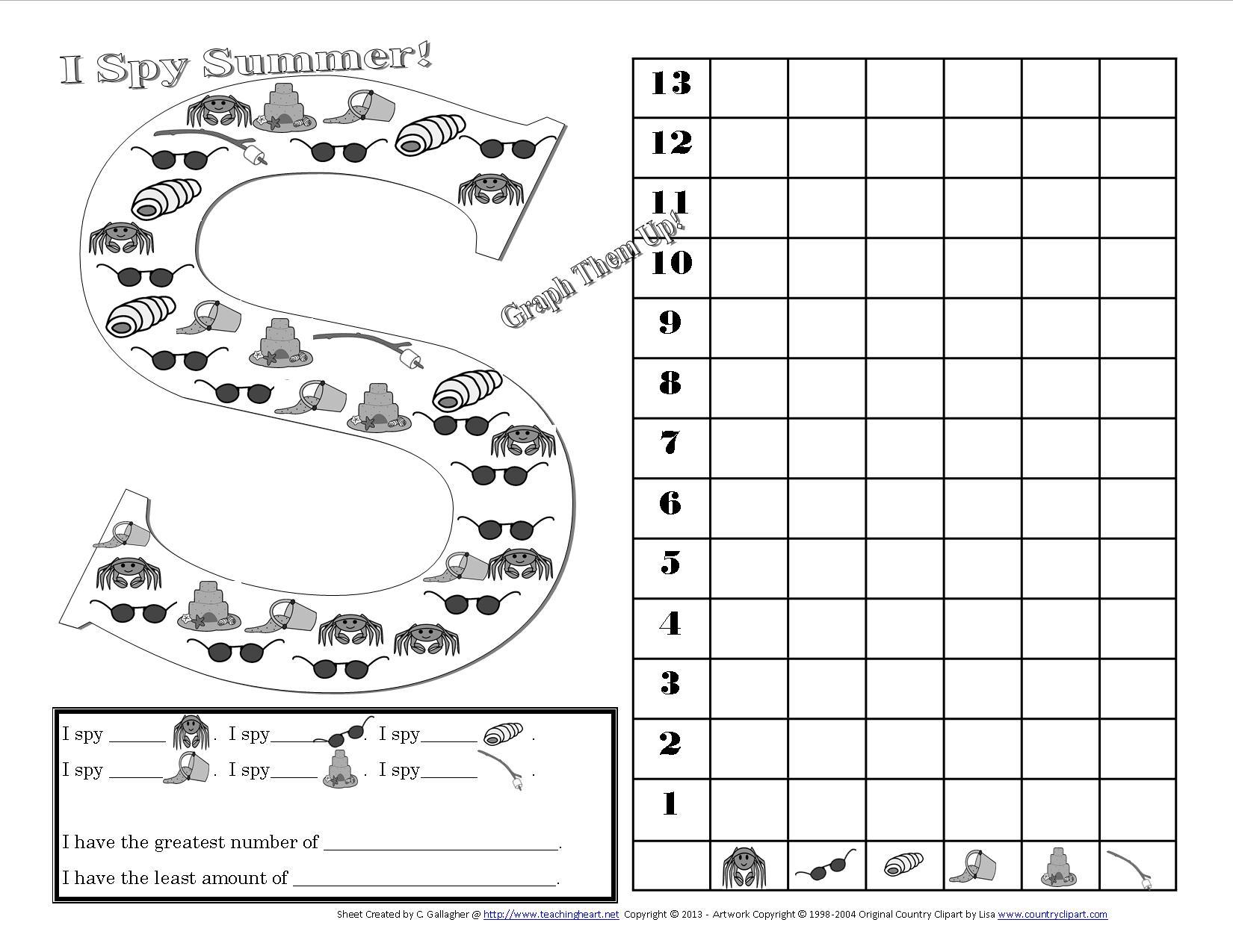 16 Best Images Of I Spy Preschool Worksheet