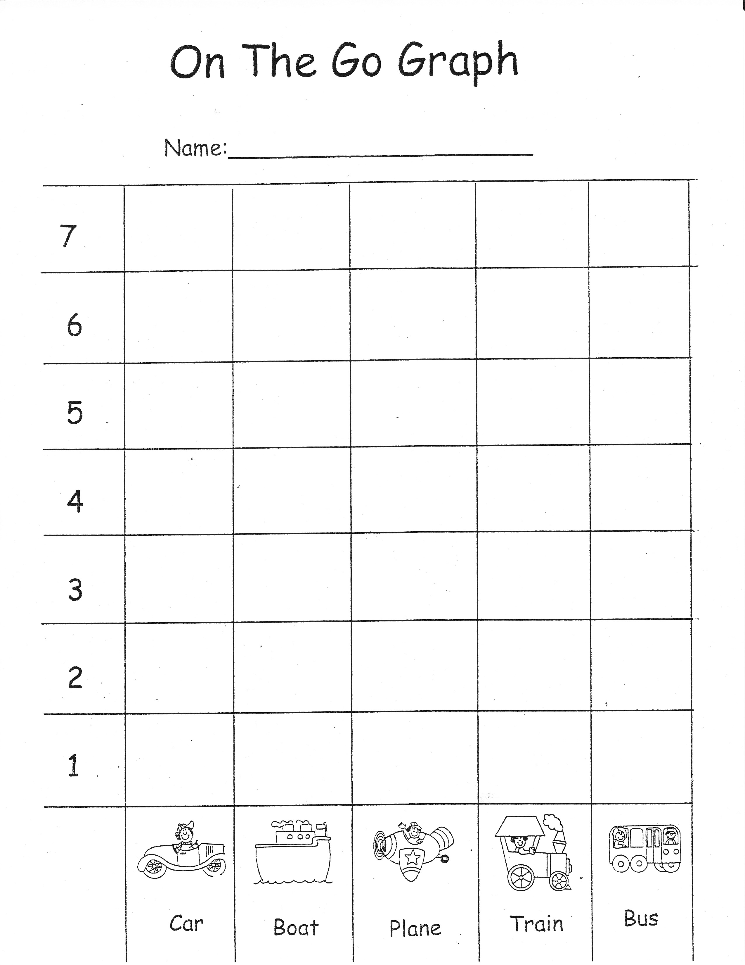 14 Best Images Of Transportation Math Worksheets