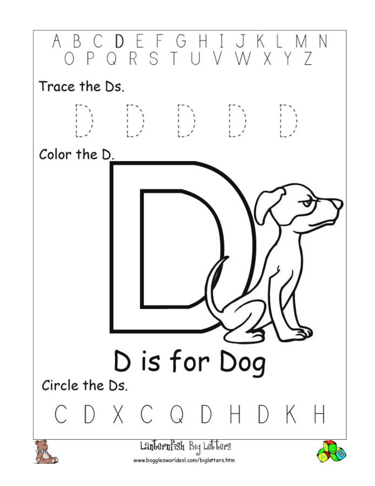 Preschool Worksheet Category Page 21