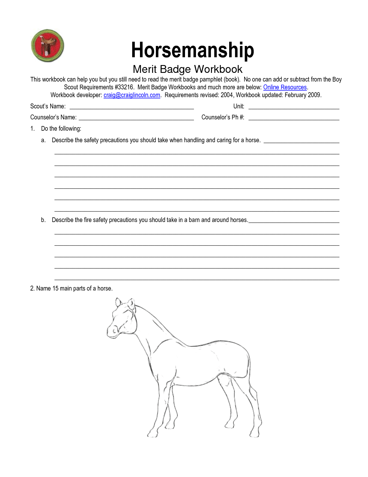 12 Best Images Of Worksheets Learn About Horses