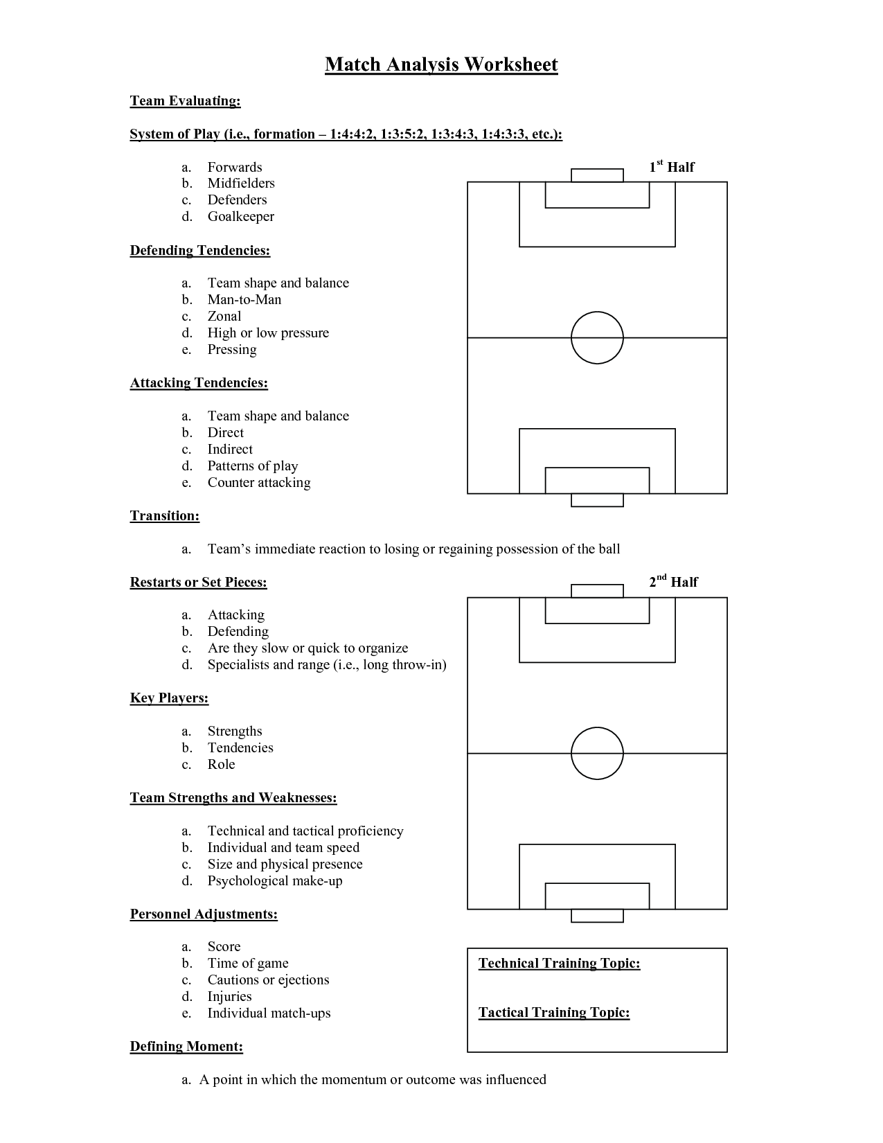 Matching Worksheet Template