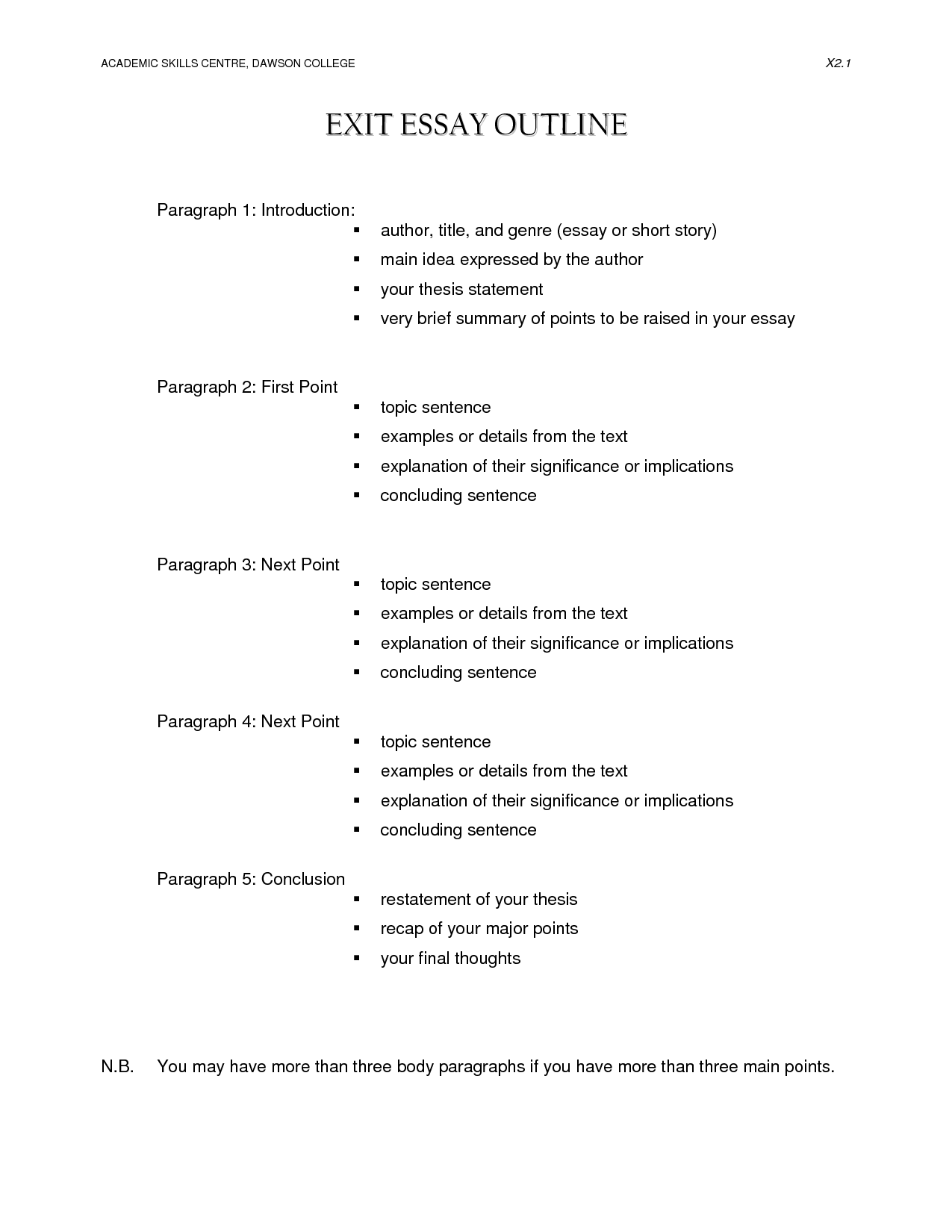 16 Best Images Of College Essay Writing Worksheet