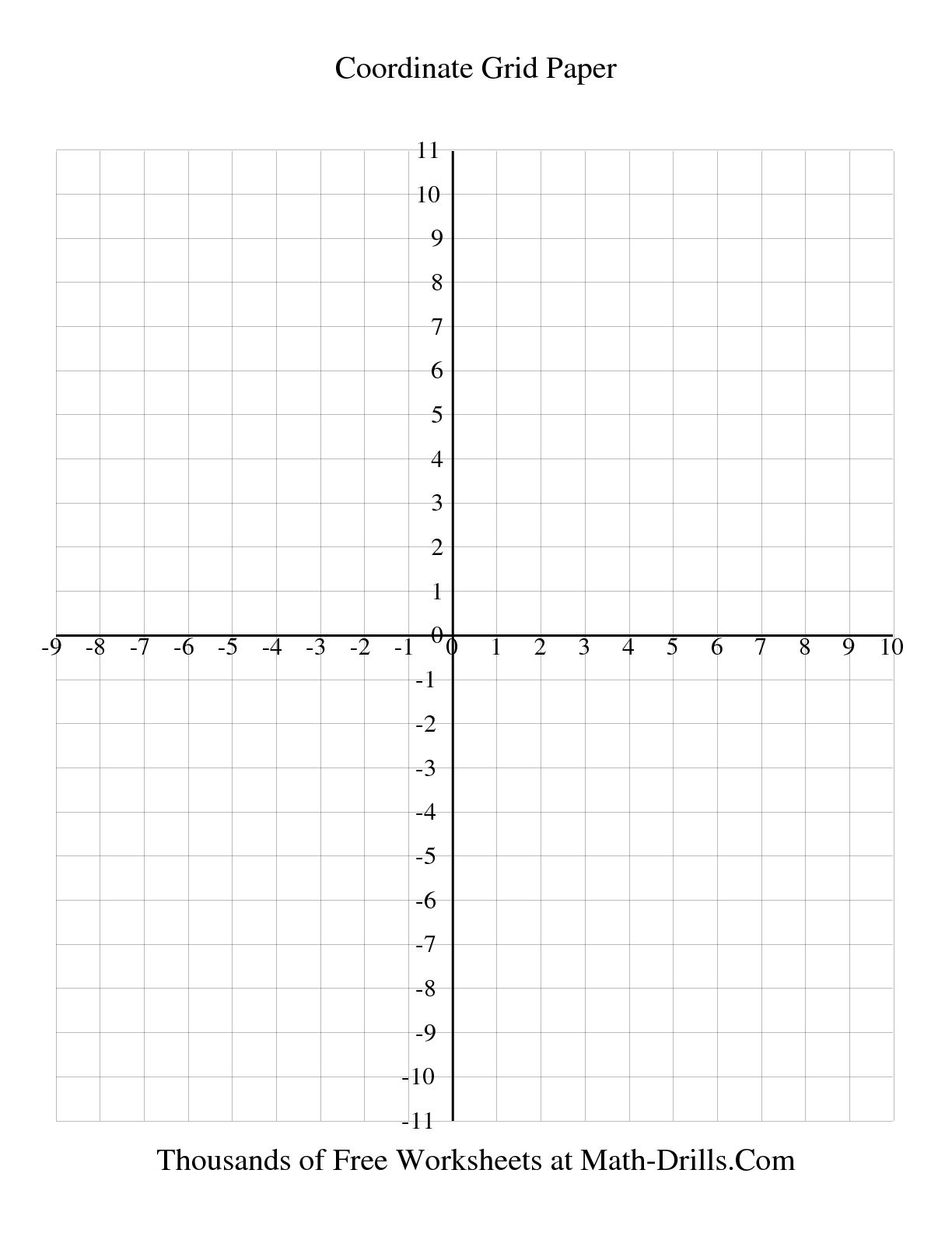 13 Best Images Of Math Coordinate Grid Worksheets
