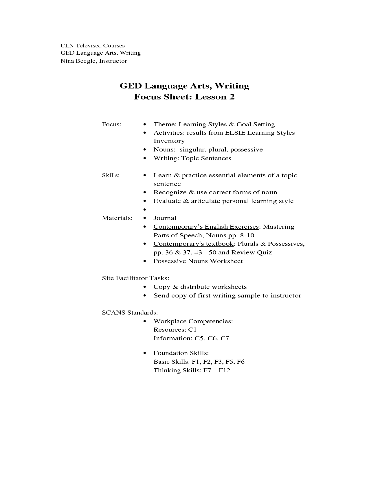 6 Best Images Of Ged Reading Comprehension Worksheets